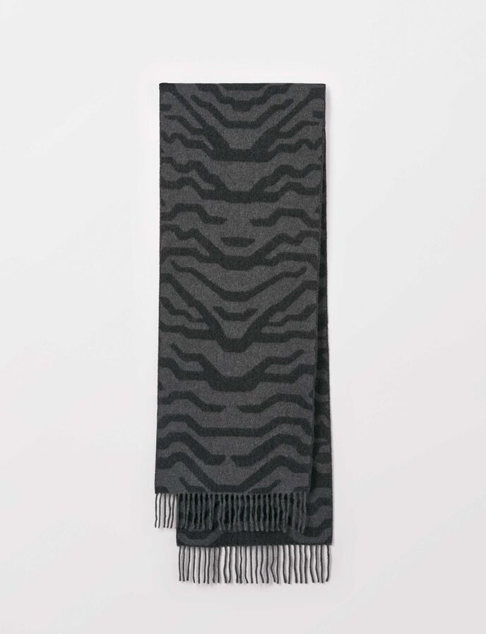 Sizan Scarf in Grey melange from Tiger of Sweden