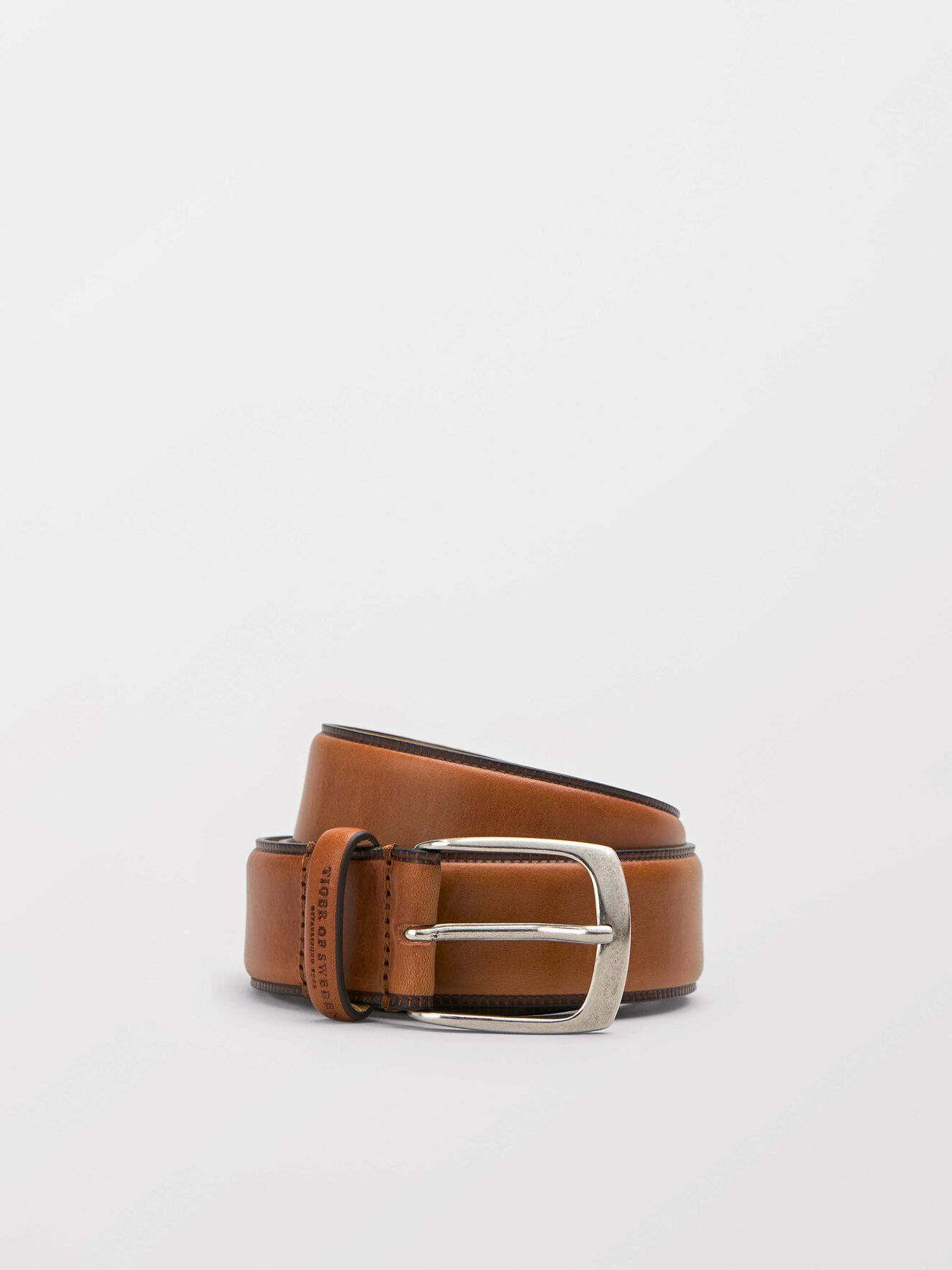 Blommer belt in Light Brown from Tiger of Sweden