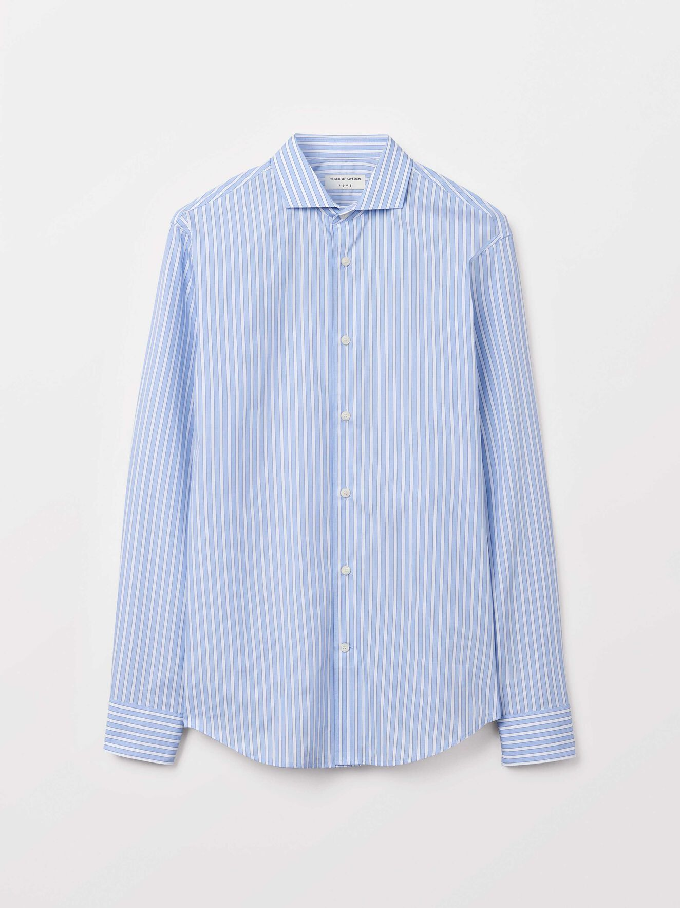 Farrell 5 Shirt in Light blue from Tiger of Sweden