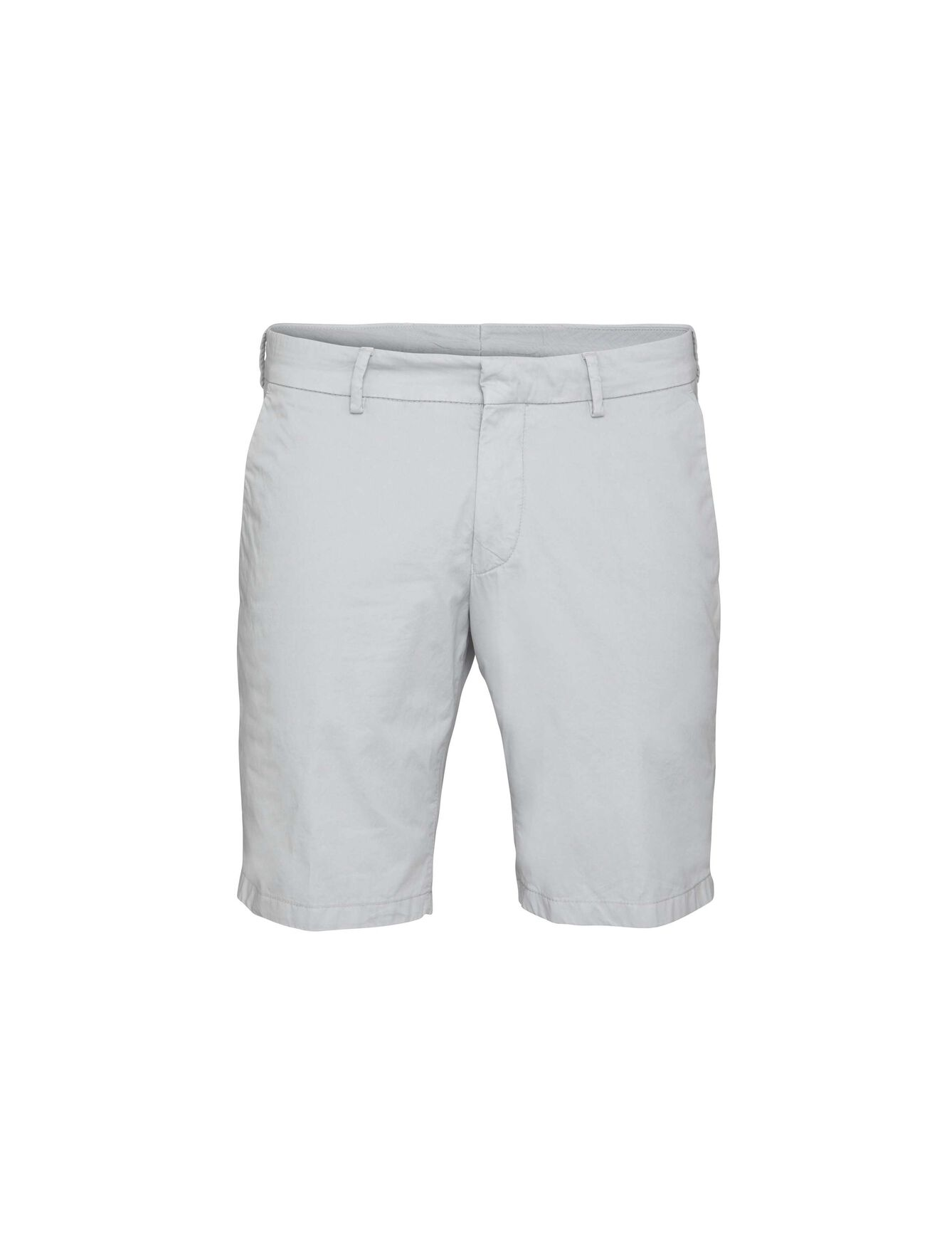 Hills 6Ppt Shorts in Light grey melange from Tiger of Sweden