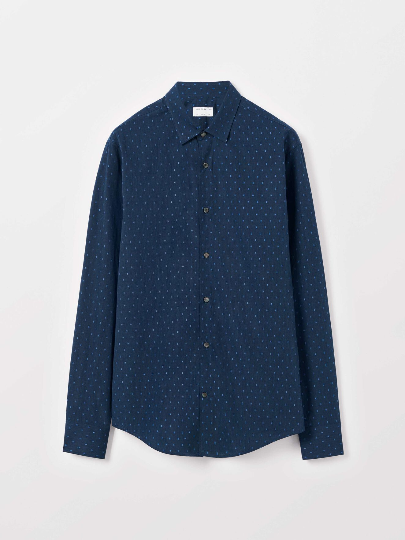 Farrell 4 Shirt in Light Ink from Tiger of Sweden