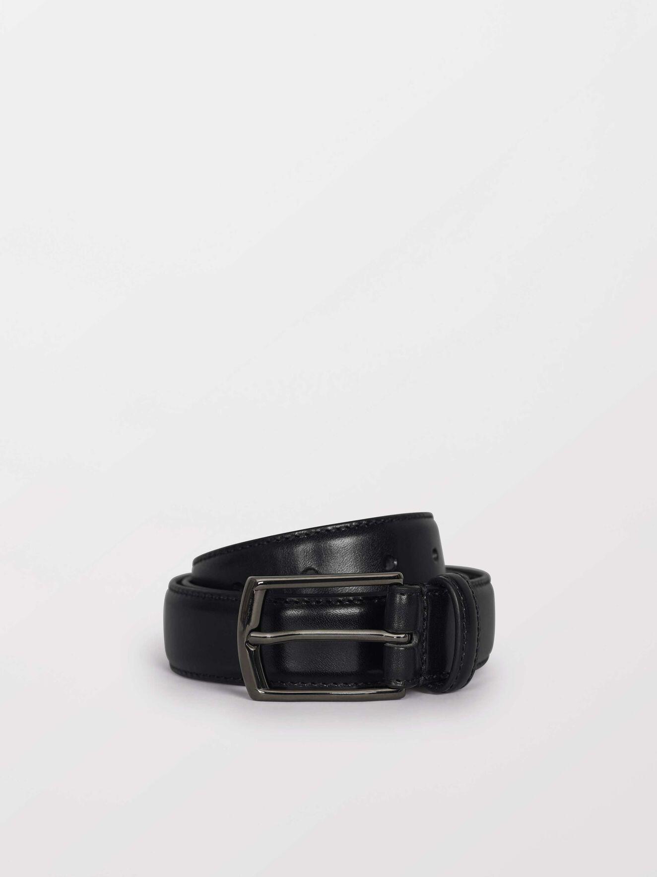 Bannir Belt in Black from Tiger of Sweden