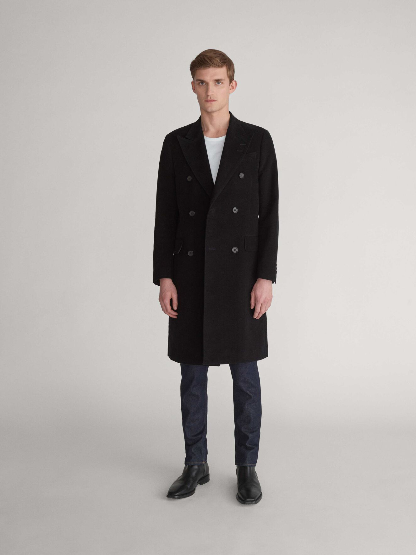 Manteau Coltron in Black from Tiger of Sweden