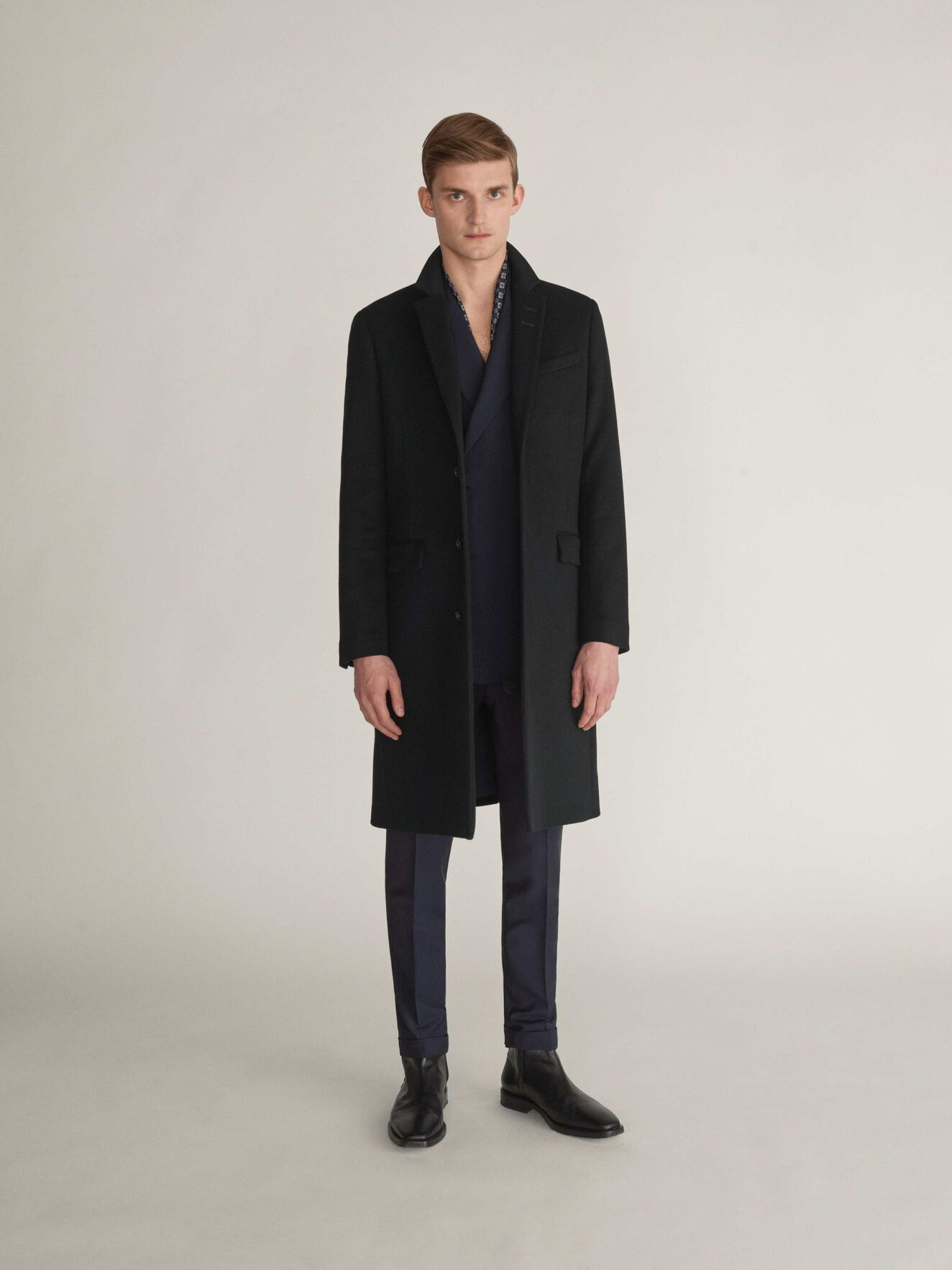 Coltmar Coat in Black from Tiger of Sweden