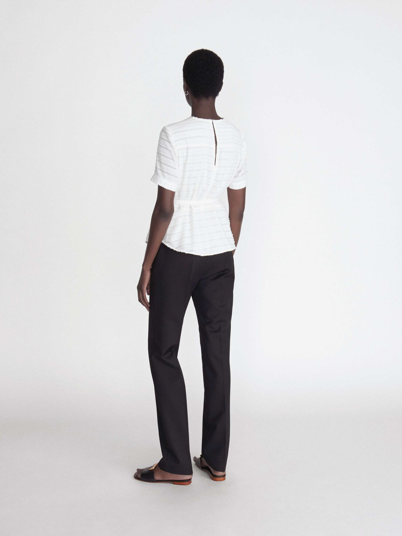 Tanessa S Top in Pure white from Tiger of Sweden