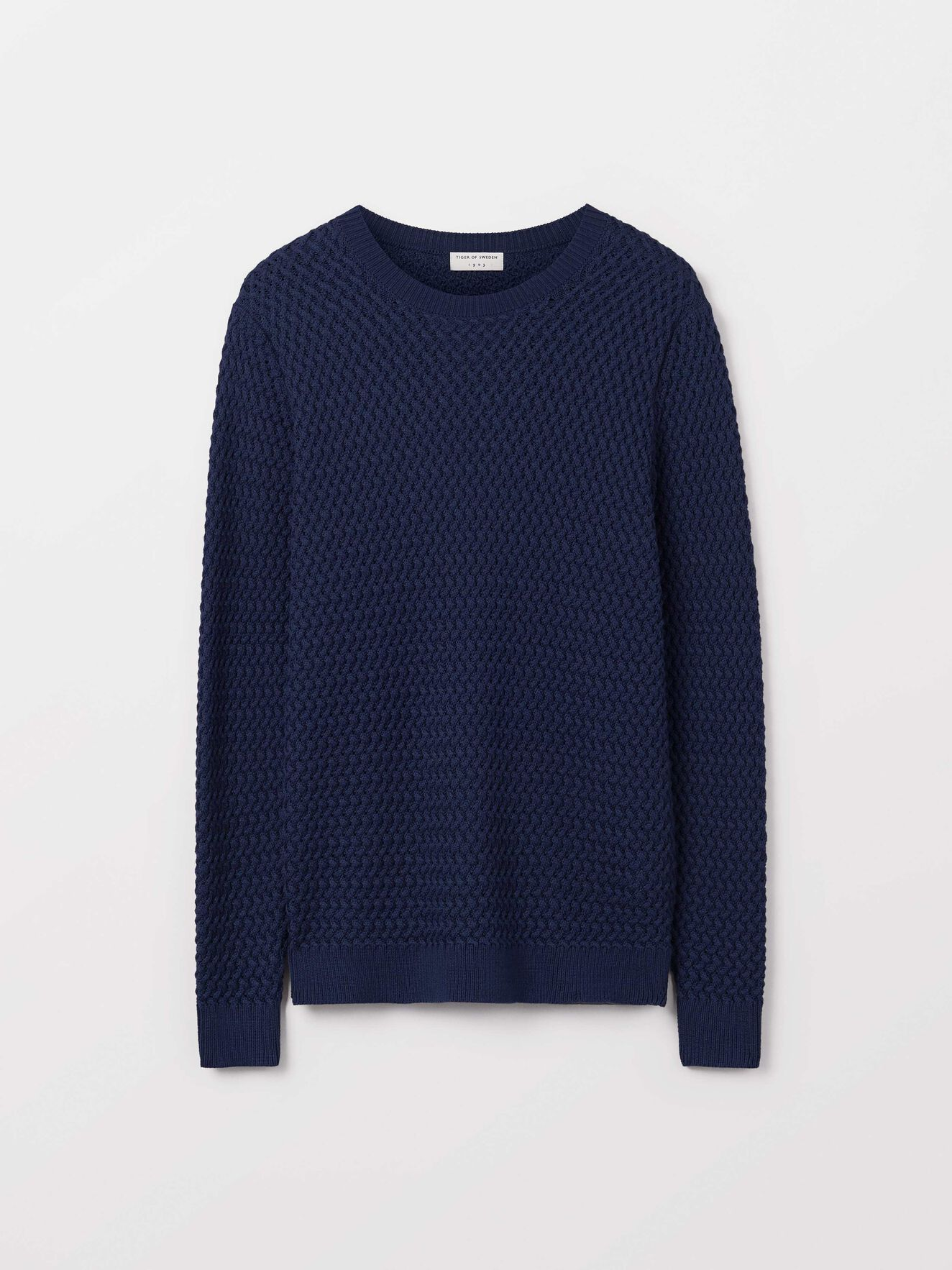 Nel Pullover in Light Ink from Tiger of Sweden