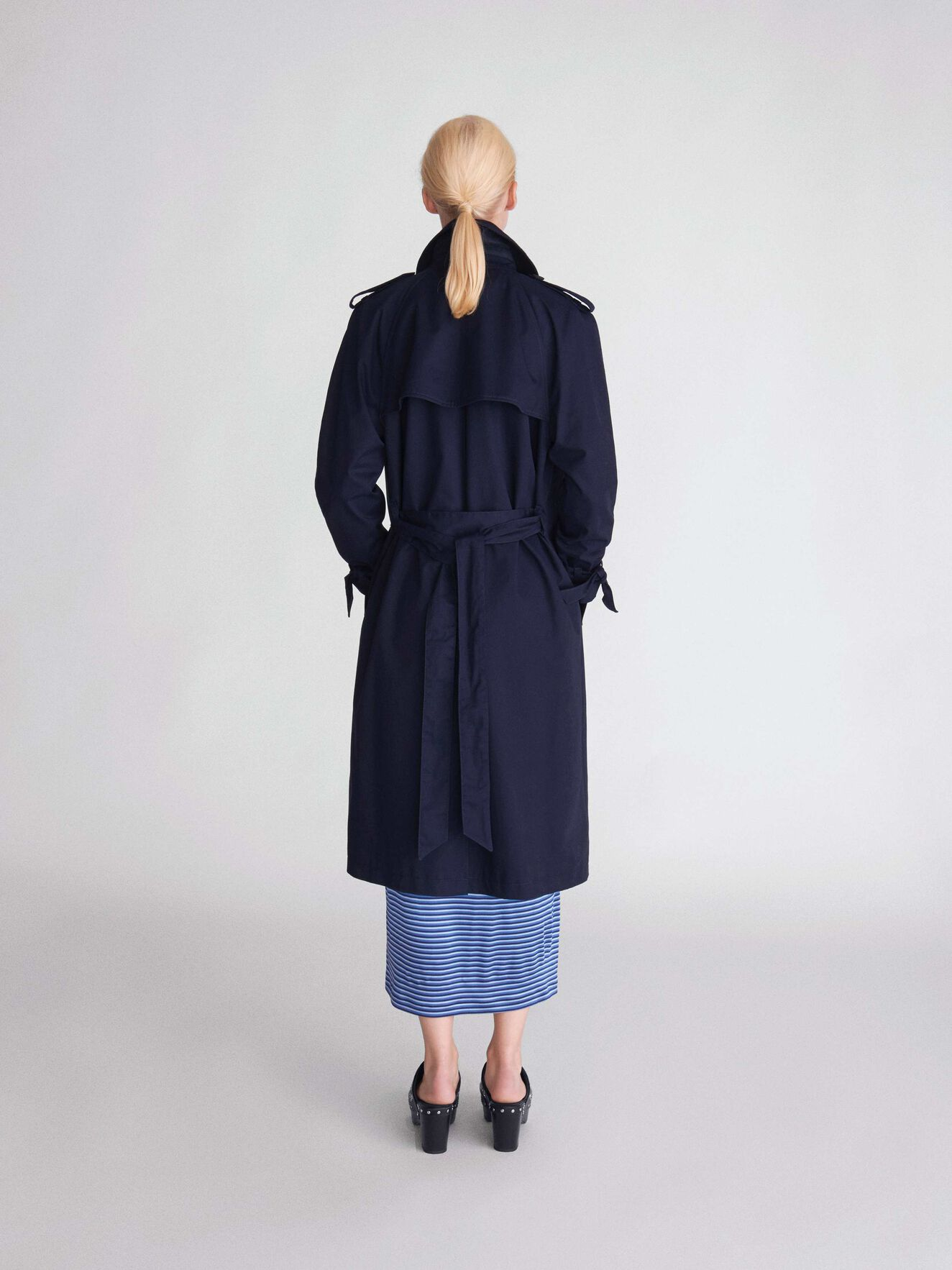 Torii Coat in Blue from Tiger of Sweden