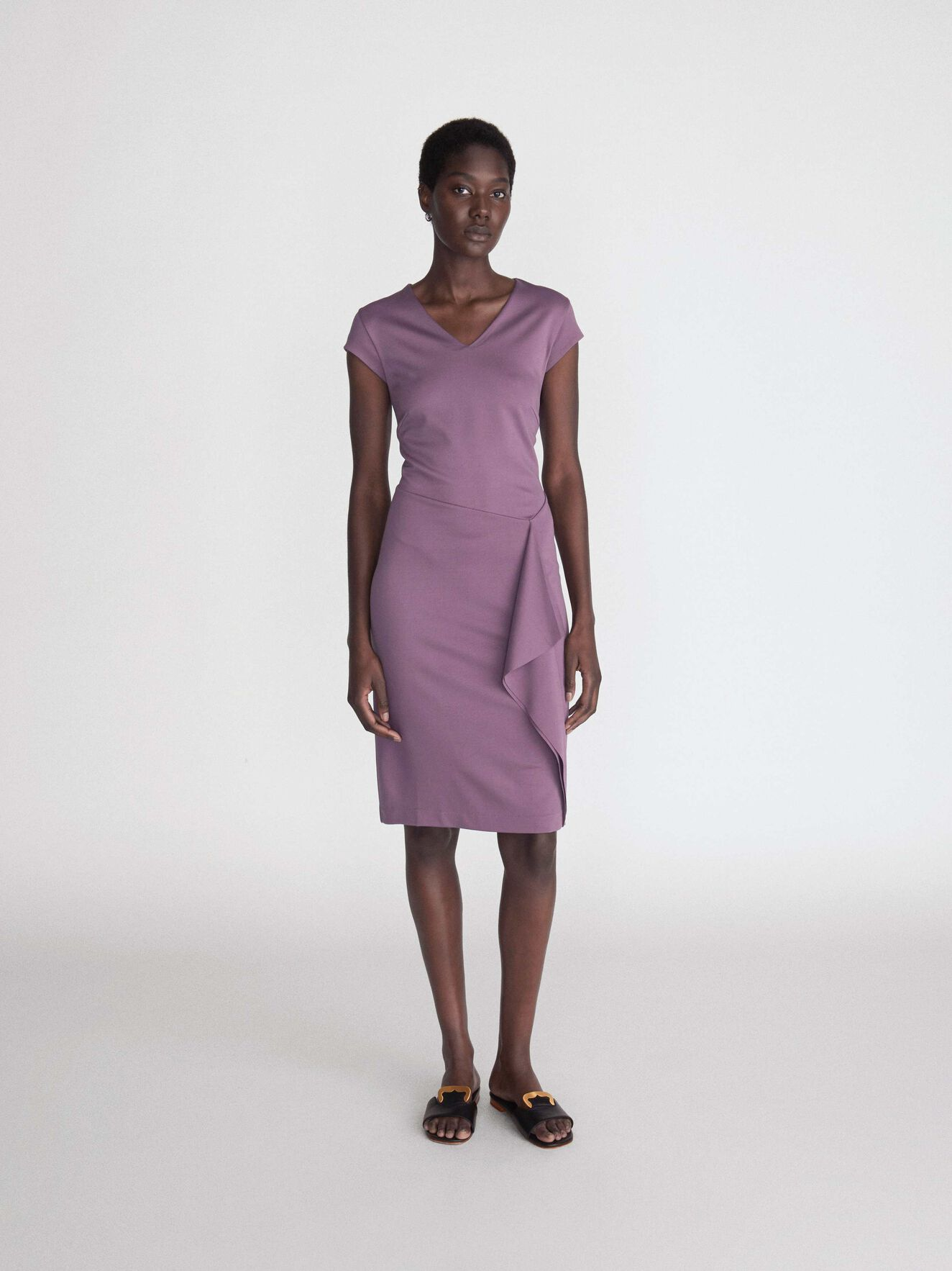 Amethyste Dress in Light Grape from Tiger of Sweden