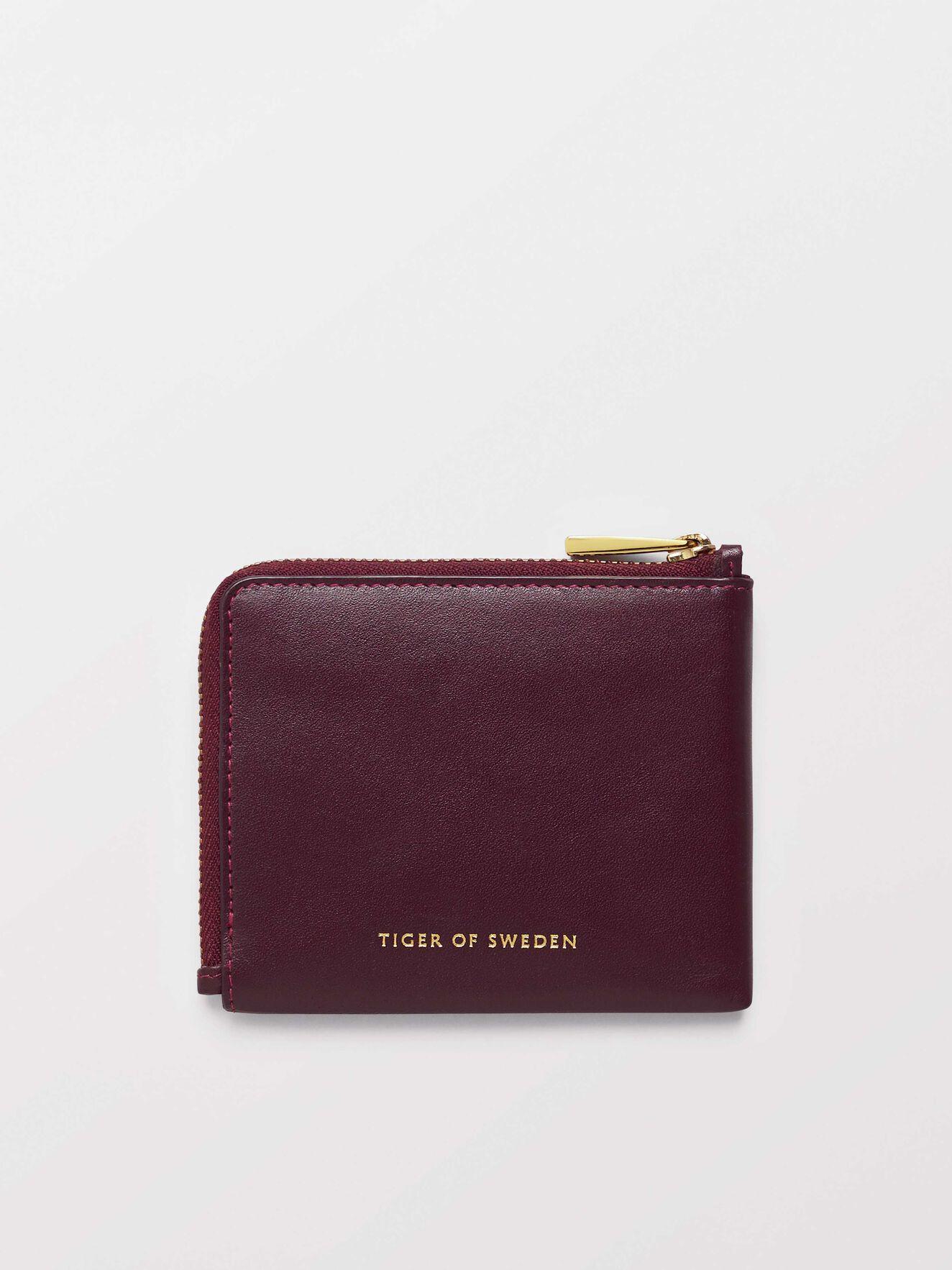 Wortafo Wallet in Noon Plum from Tiger of Sweden