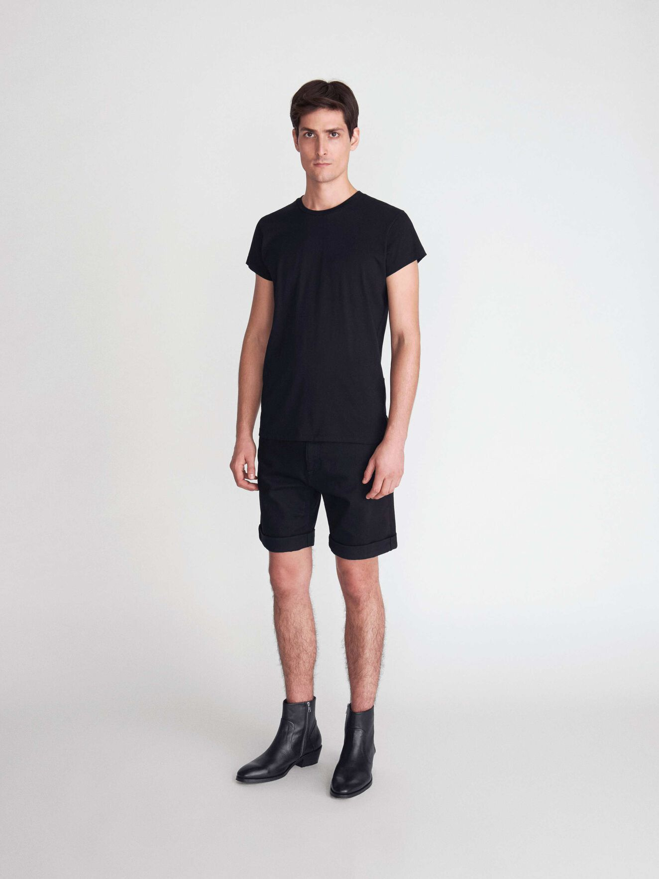 West T-Shirt in Black from Tiger of Sweden