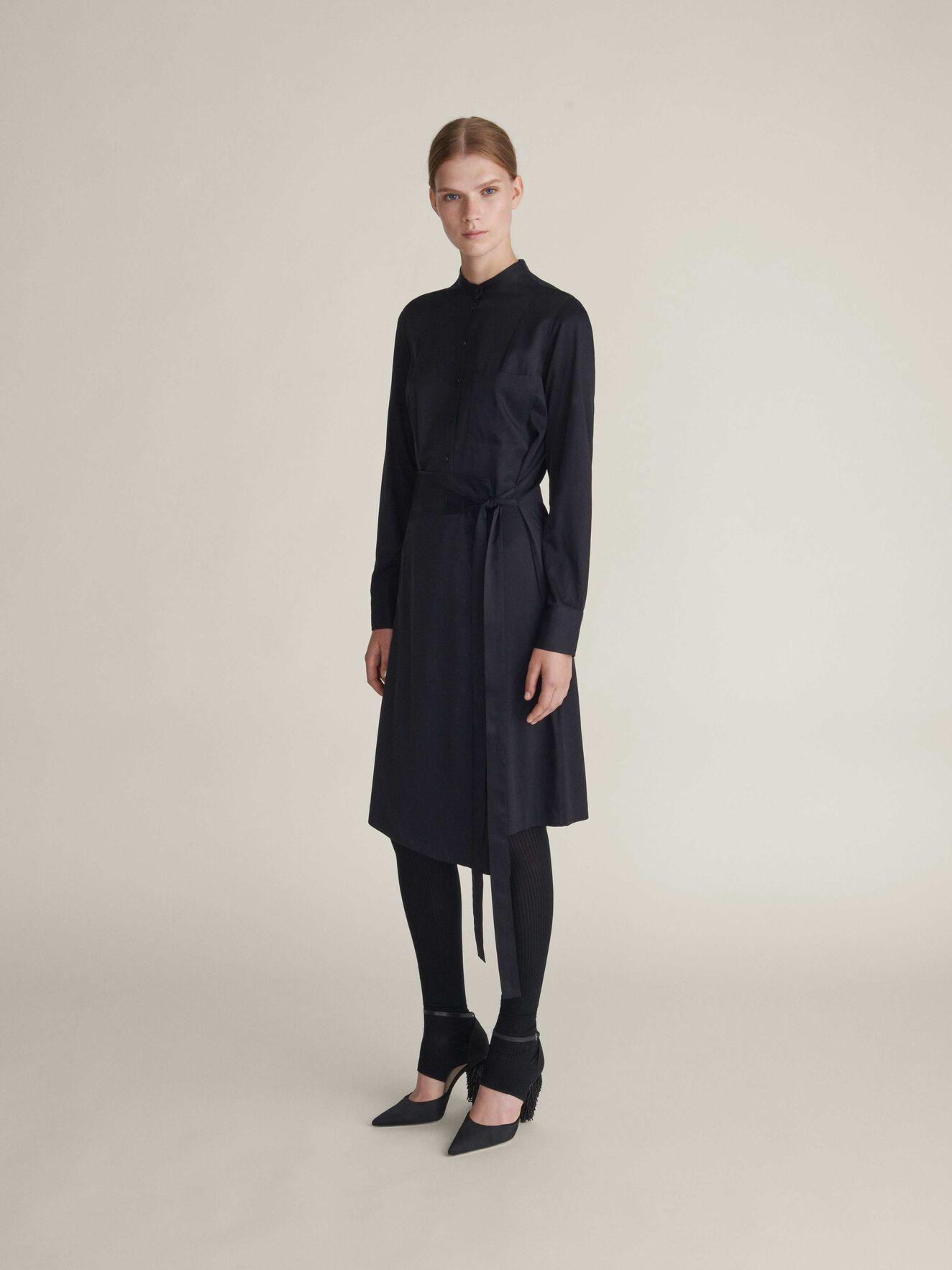 Leonetta Dress in Midnight Black from Tiger of Sweden