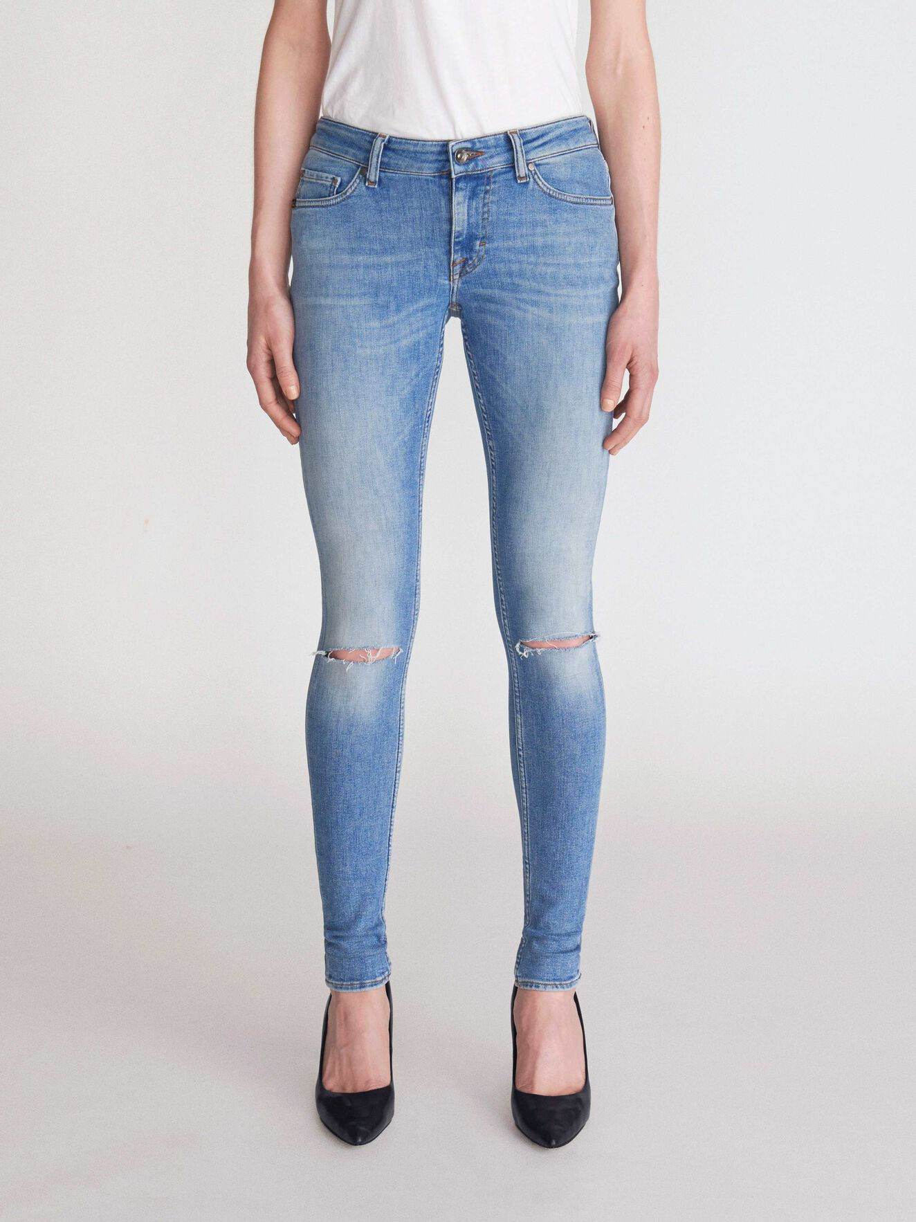 Slender Jeans in Light blue from Tiger of Sweden