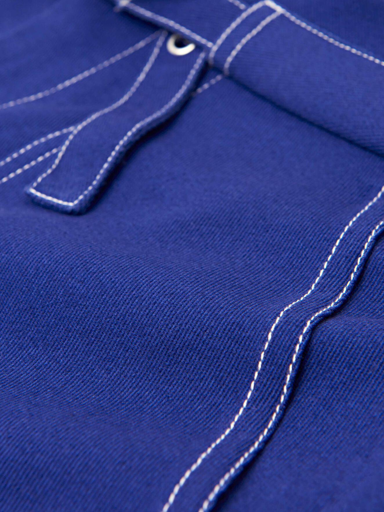 Popsicle Skirt in Deep Ocean Blue from Tiger of Sweden