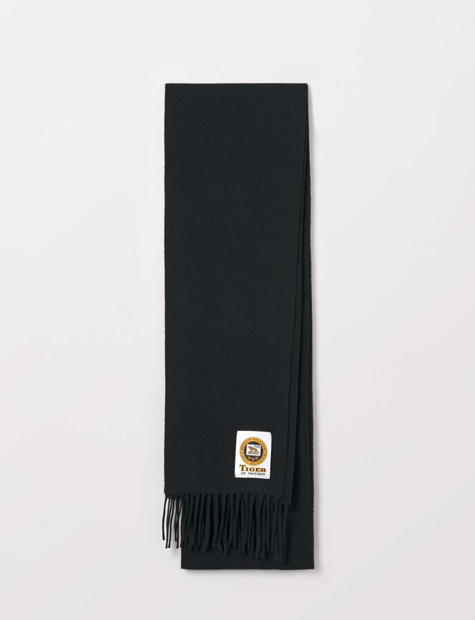 Standart Scarf in Black from Tiger of Sweden