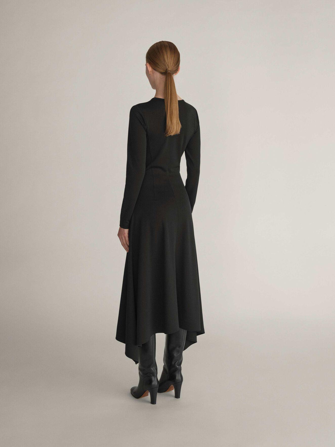 Pennylane Dress in Midnight Black from Tiger of Sweden