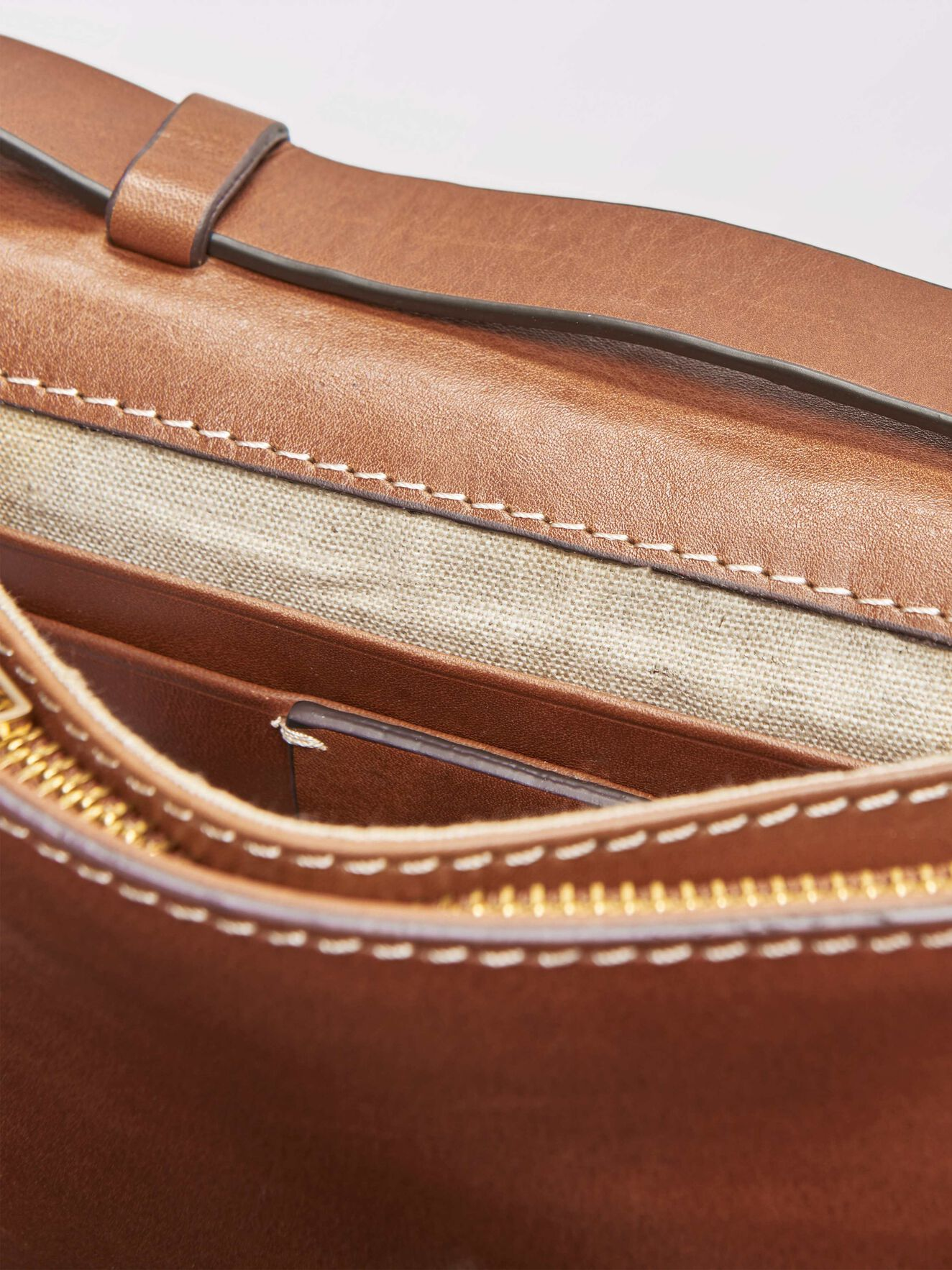 Constantia Clutch in Light Brown from Tiger of Sweden