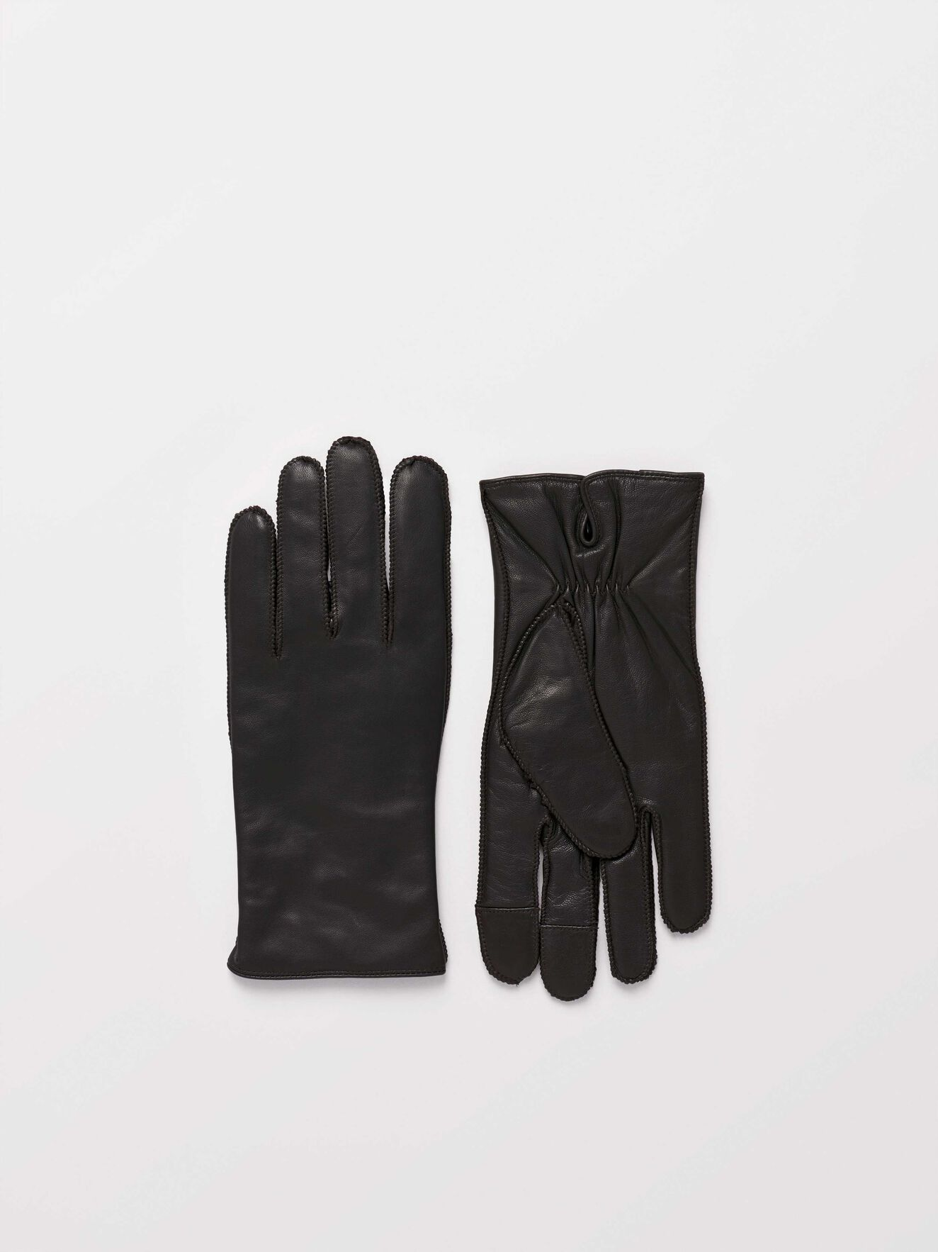 Gandalus Gloves in Dark Brown from Tiger of Sweden