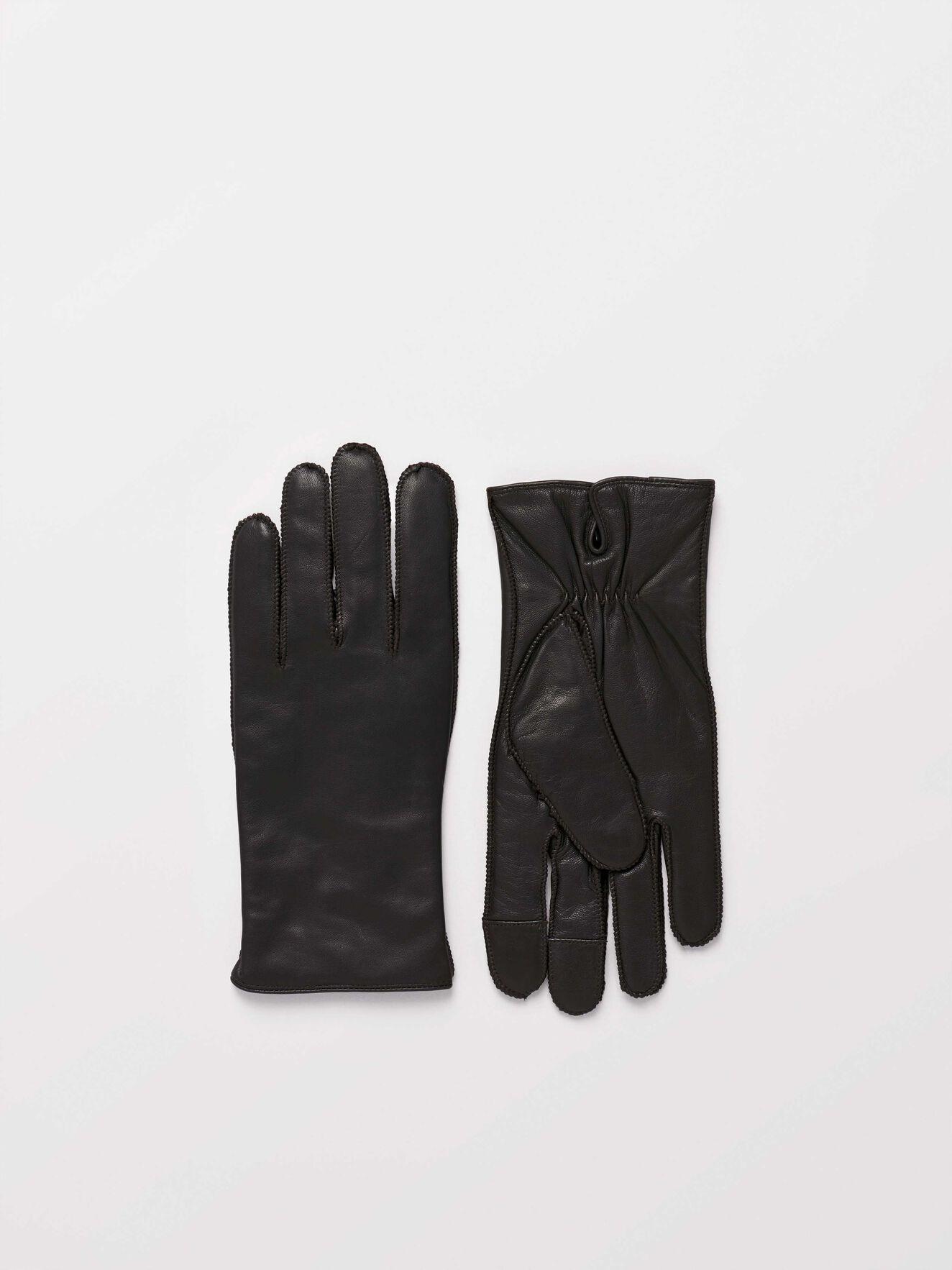 Gandalus Gloves in Dark Brown from Tiger of Sweden