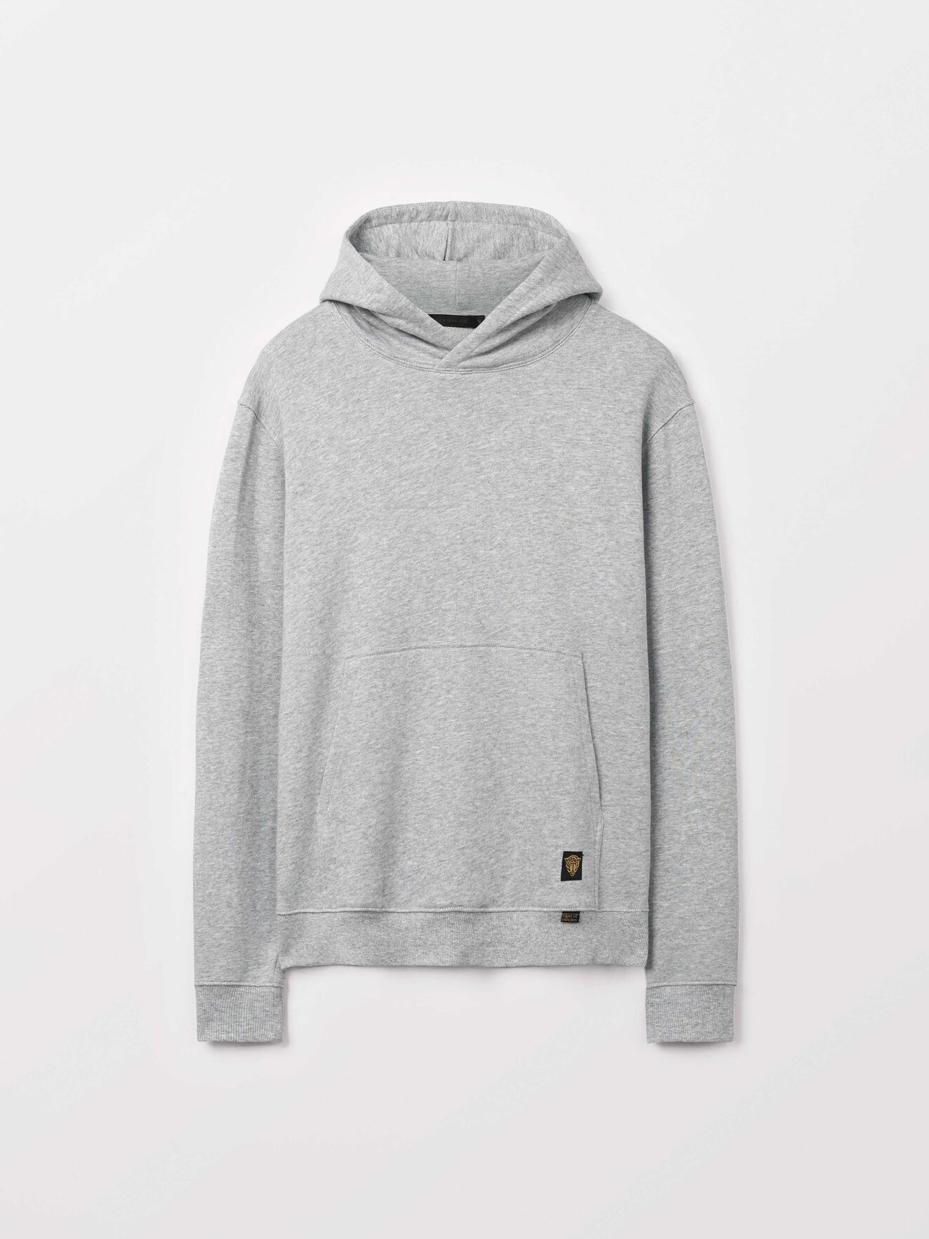 Eliaz Hoodie in Grey melange from Tiger of Sweden