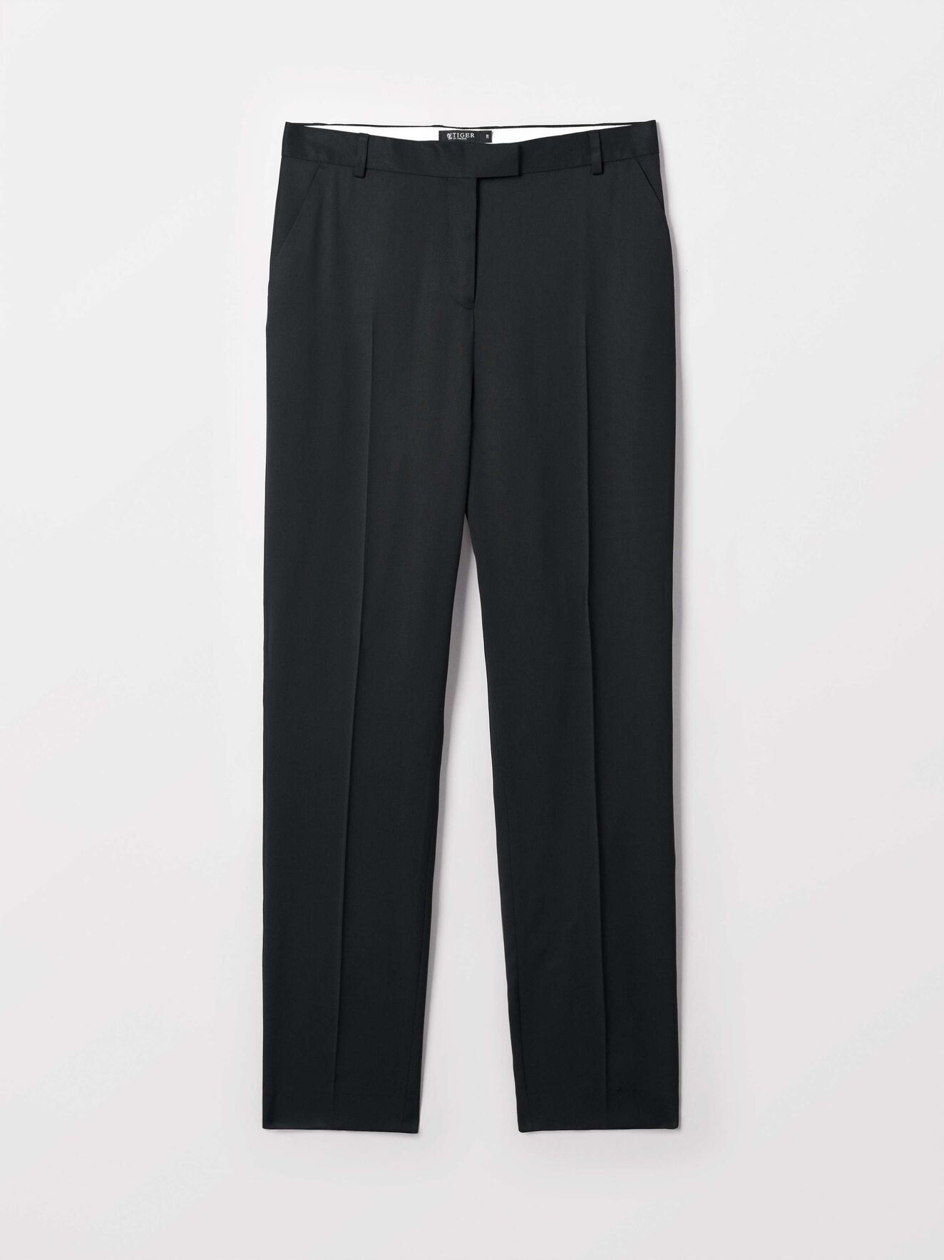 Loanella Trousers in Midnight Black from Tiger of Sweden