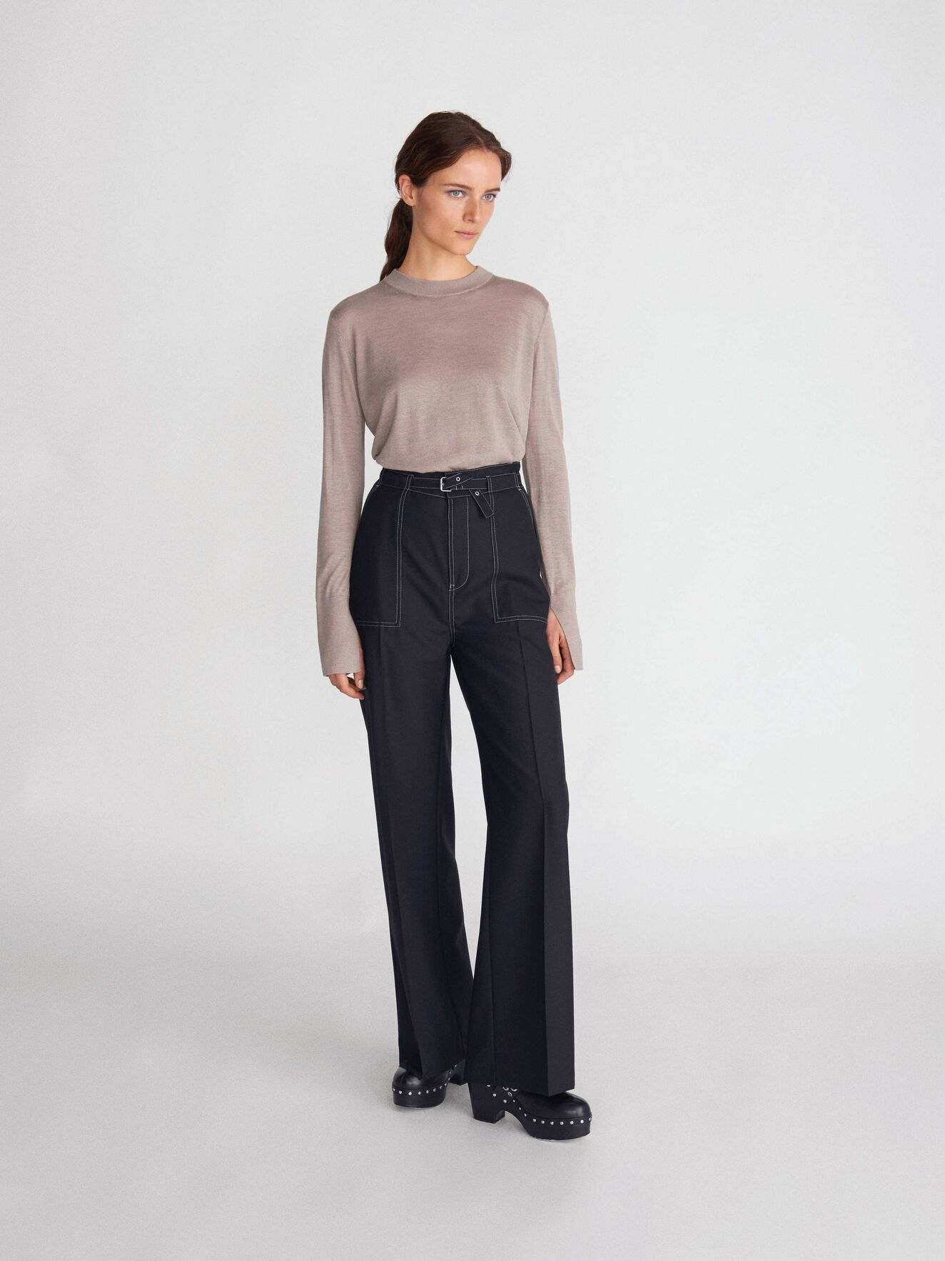 Nikki Trousers in Black from Tiger of Sweden