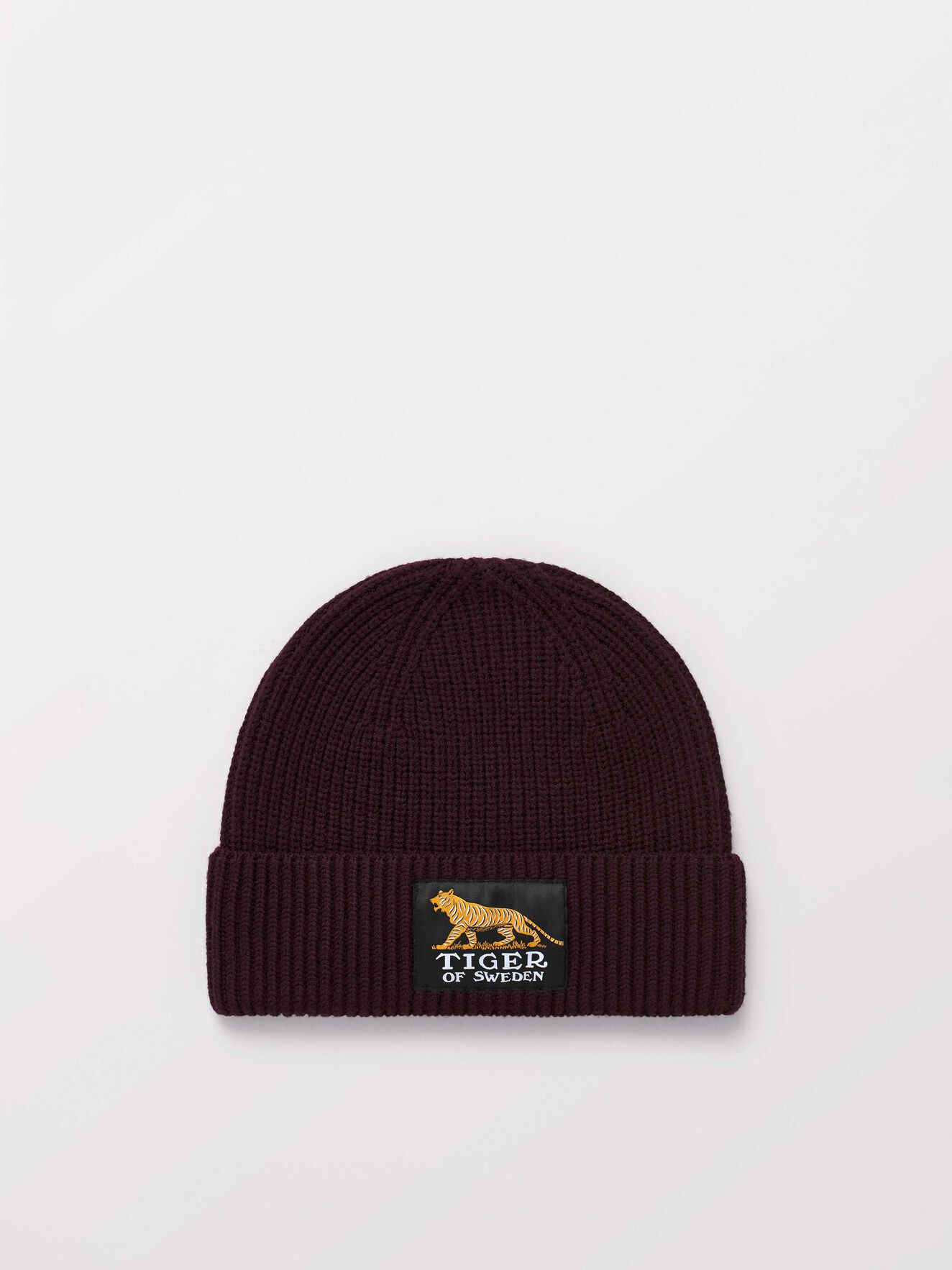 Huntt Beanie in Burgundy from Tiger of Sweden