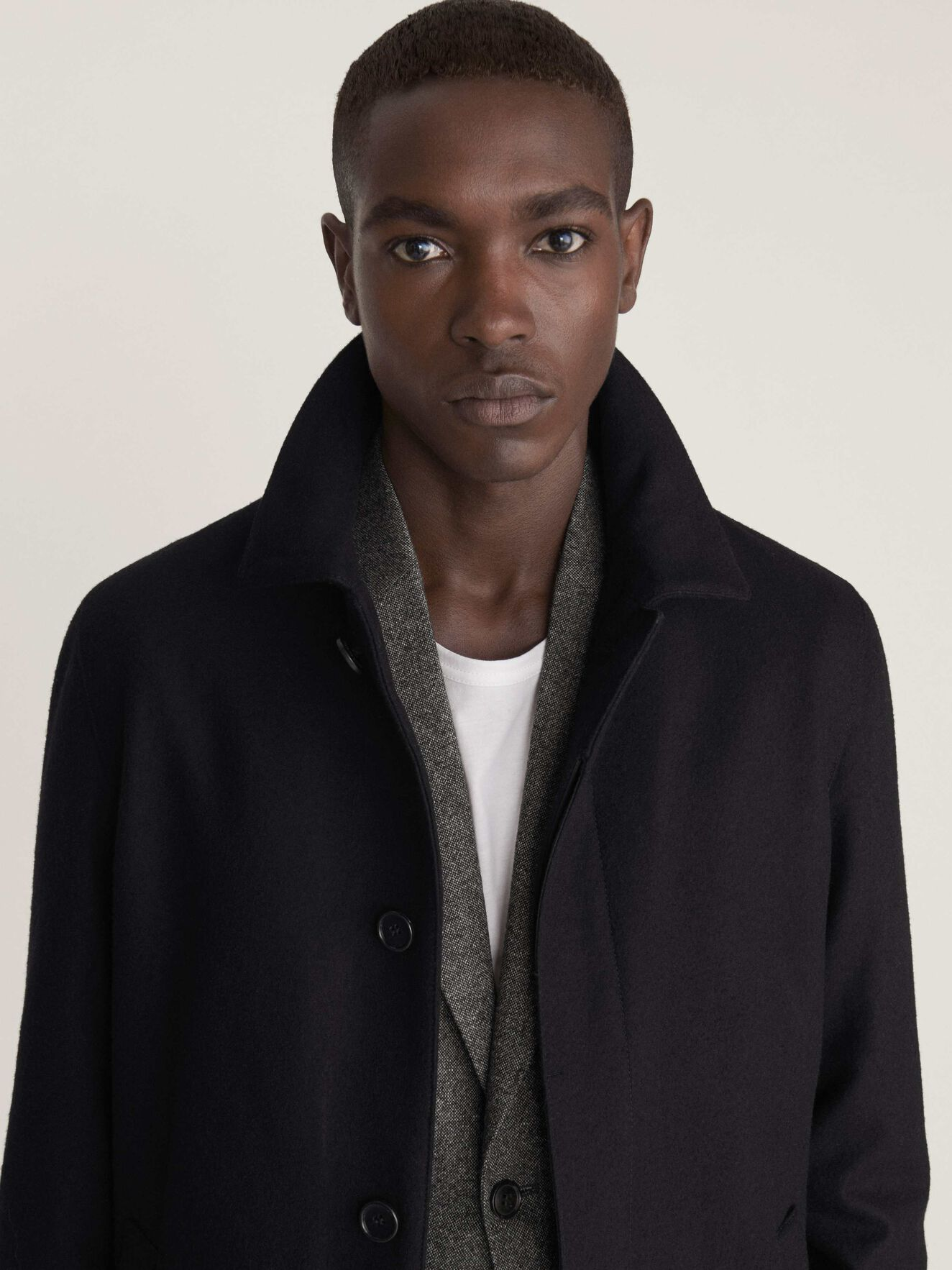 Caled Coat  in Black from Tiger of Sweden
