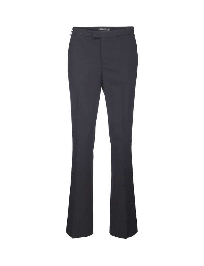 NIVE 2 TROUSERS in Midnight Black from Tiger of Sweden