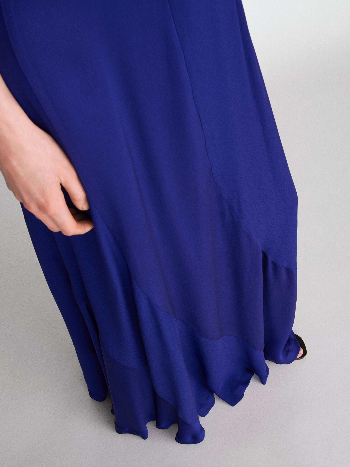 Iru Skirt in Deep Ocean Blue from Tiger of Sweden