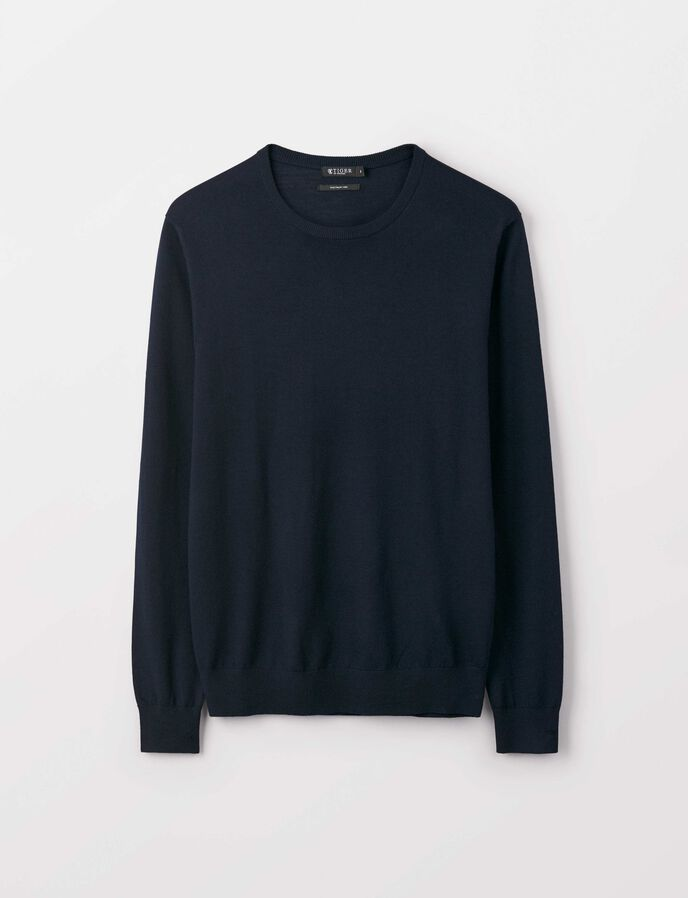 Matias Pullover in Light Ink from Tiger of Sweden