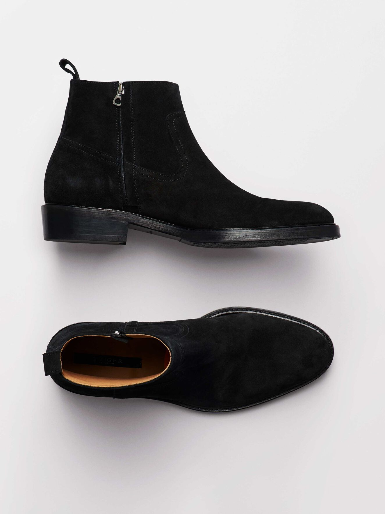 Barant S Boots in Black from Tiger of Sweden