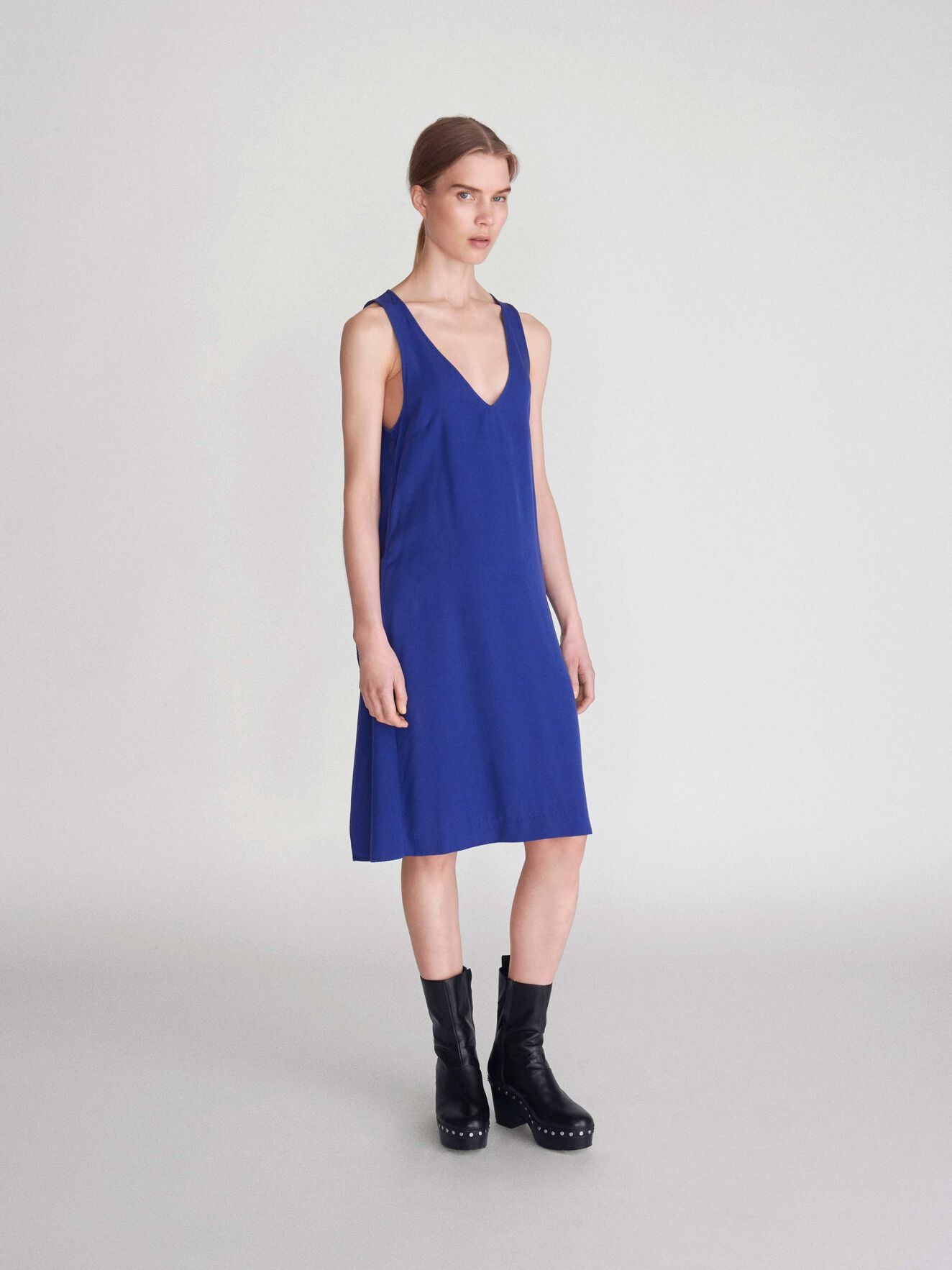 Royal Dress in Deep Ocean Blue from Tiger of Sweden