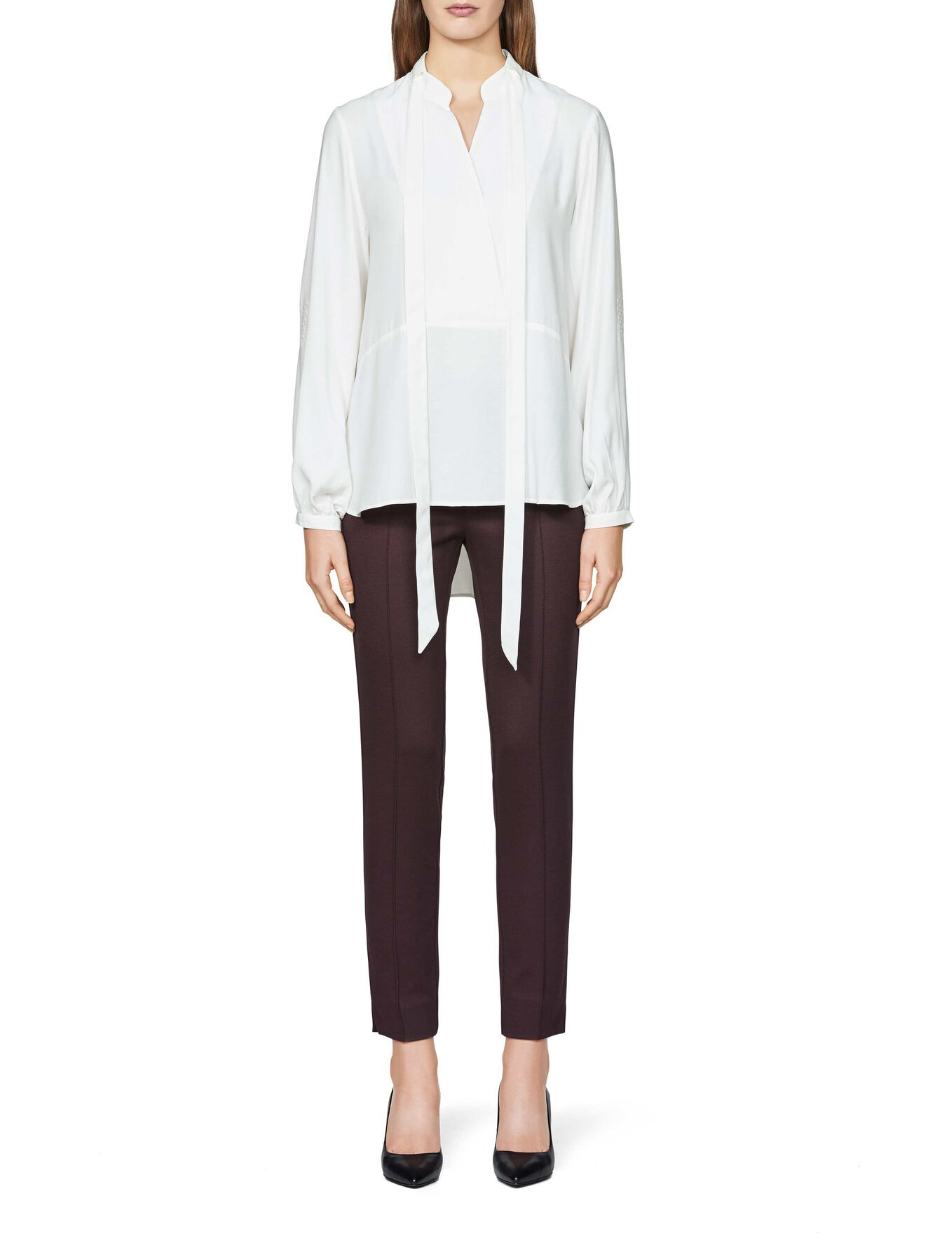 Halia shirt  in Star White from Tiger of Sweden