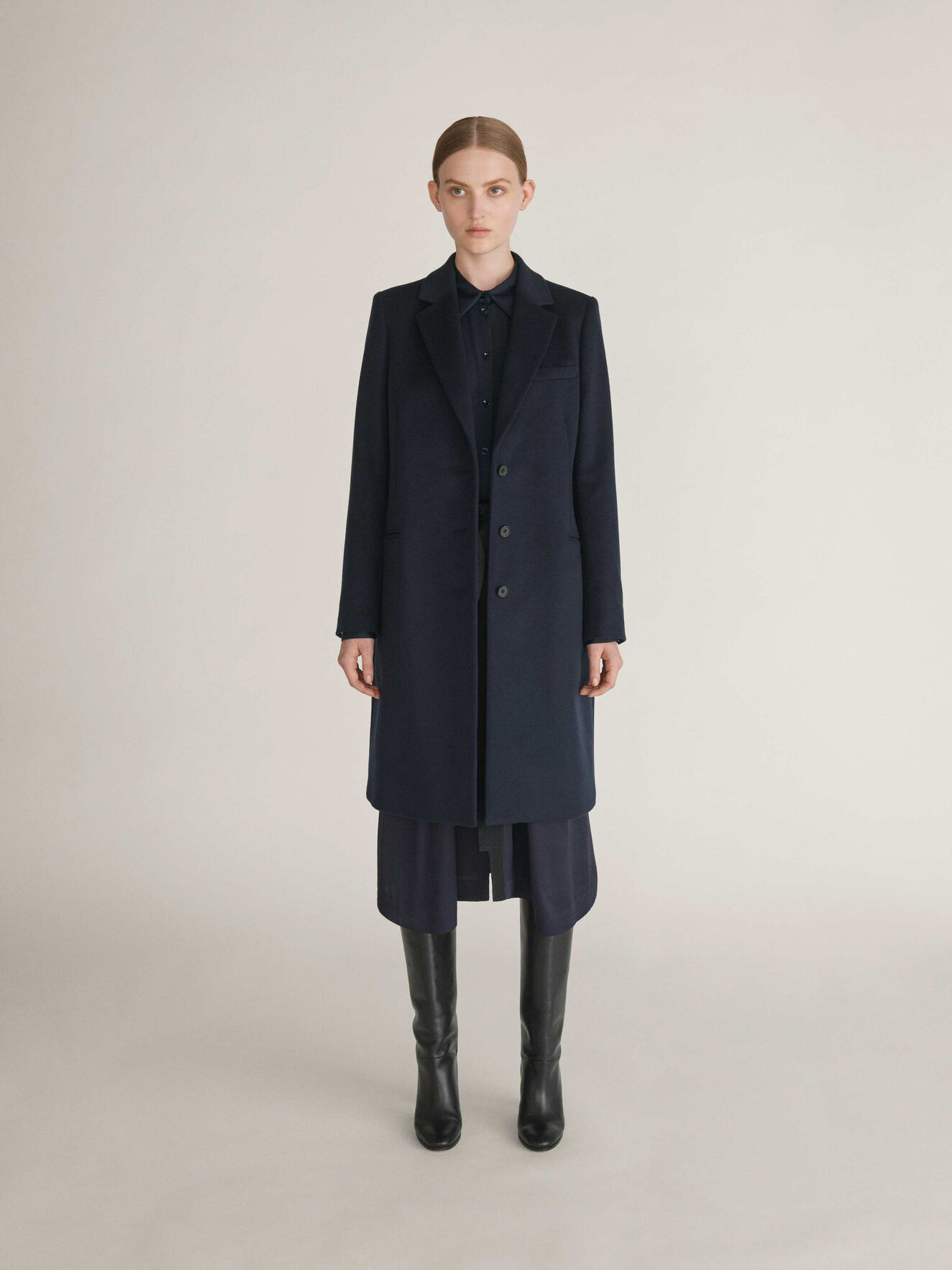 Cianne Coat in Light Ink from Tiger of Sweden