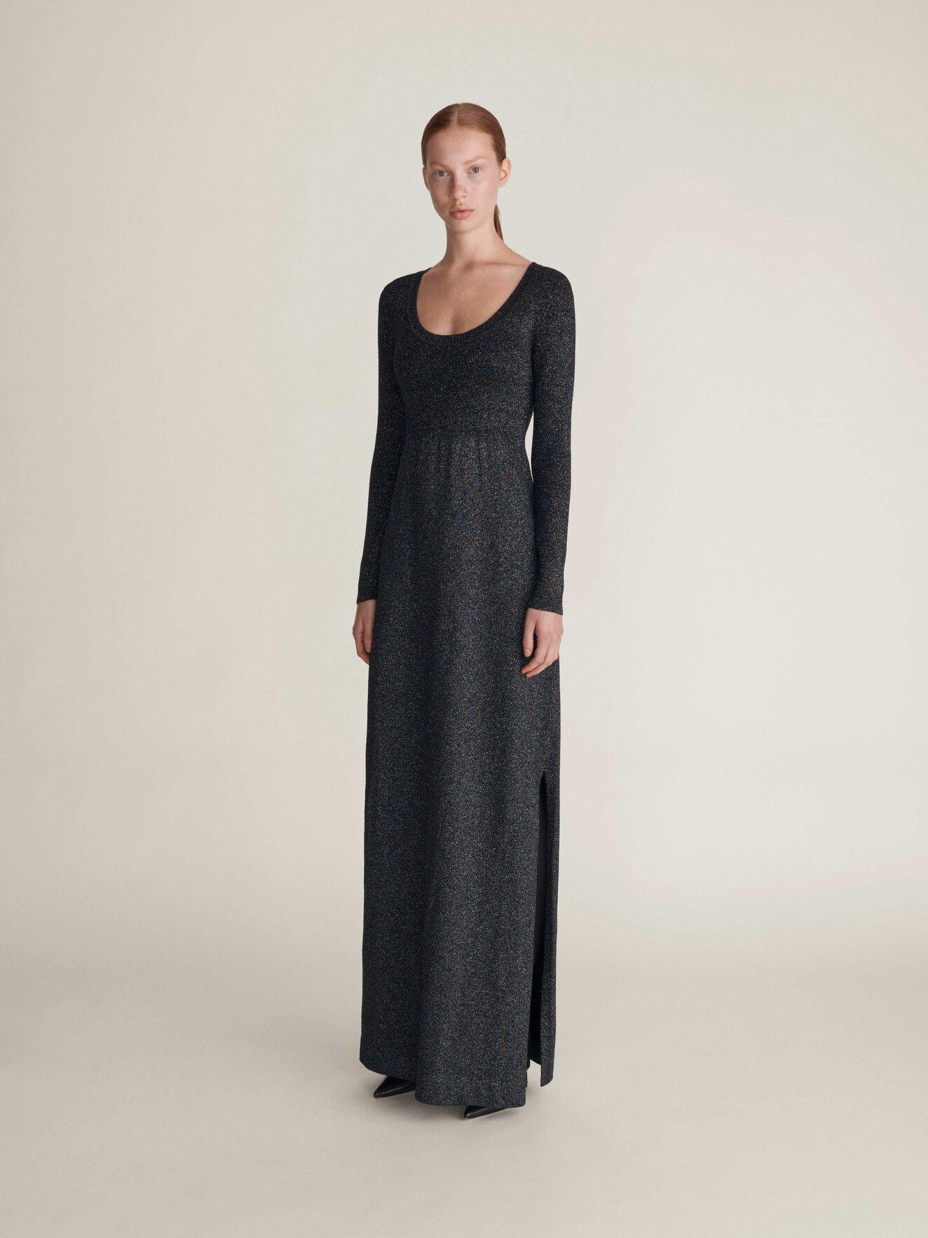 Crux Kleid in Midnight Black from Tiger of Sweden