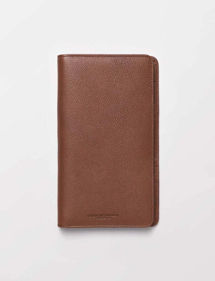 Guimard passport holder in Medium Brown from Tiger of Sweden