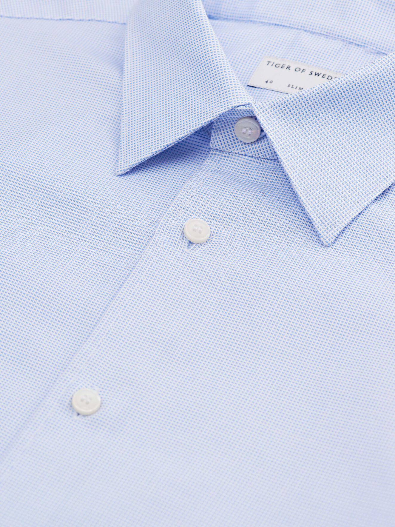 Farrell Shirt in Dust blue from Tiger of Sweden