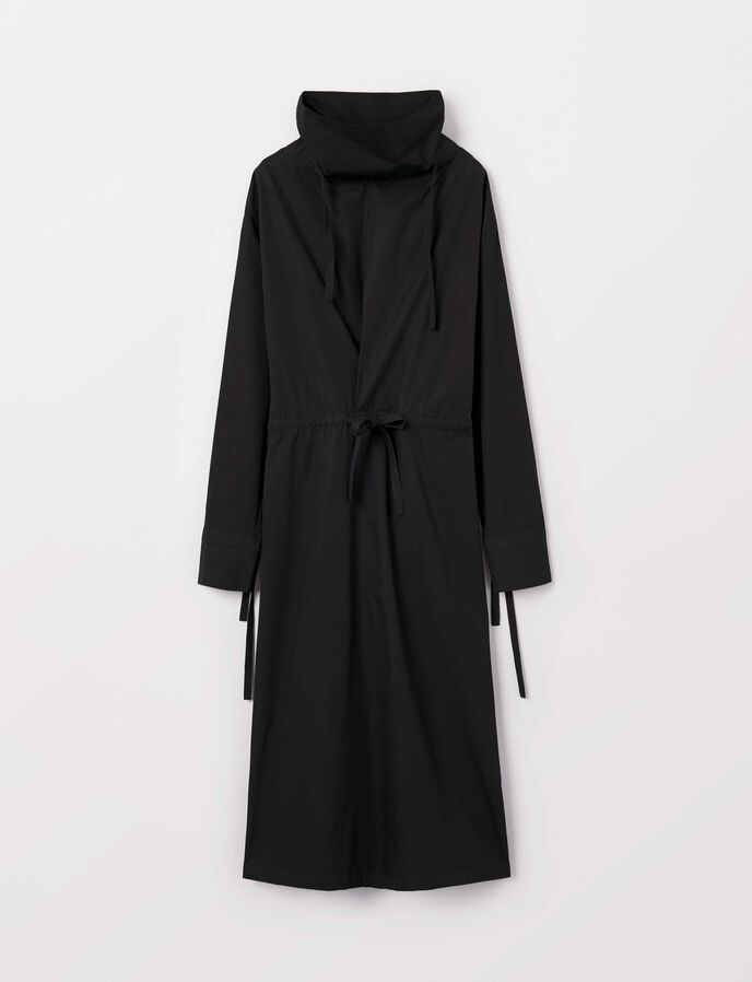 Apok Shirt-Dress in Midnight Black from Tiger of Sweden