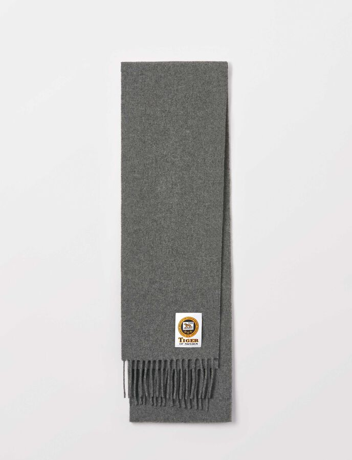 Standart Scarf in Grey melange from Tiger of Sweden