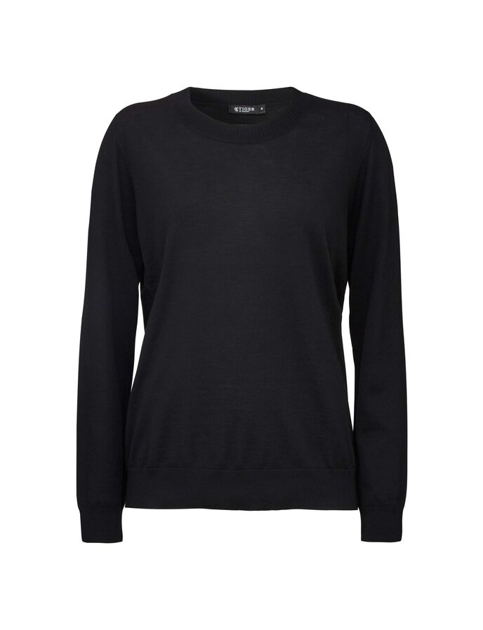 CORY PULLOVER in Midnight Black from Tiger of Sweden