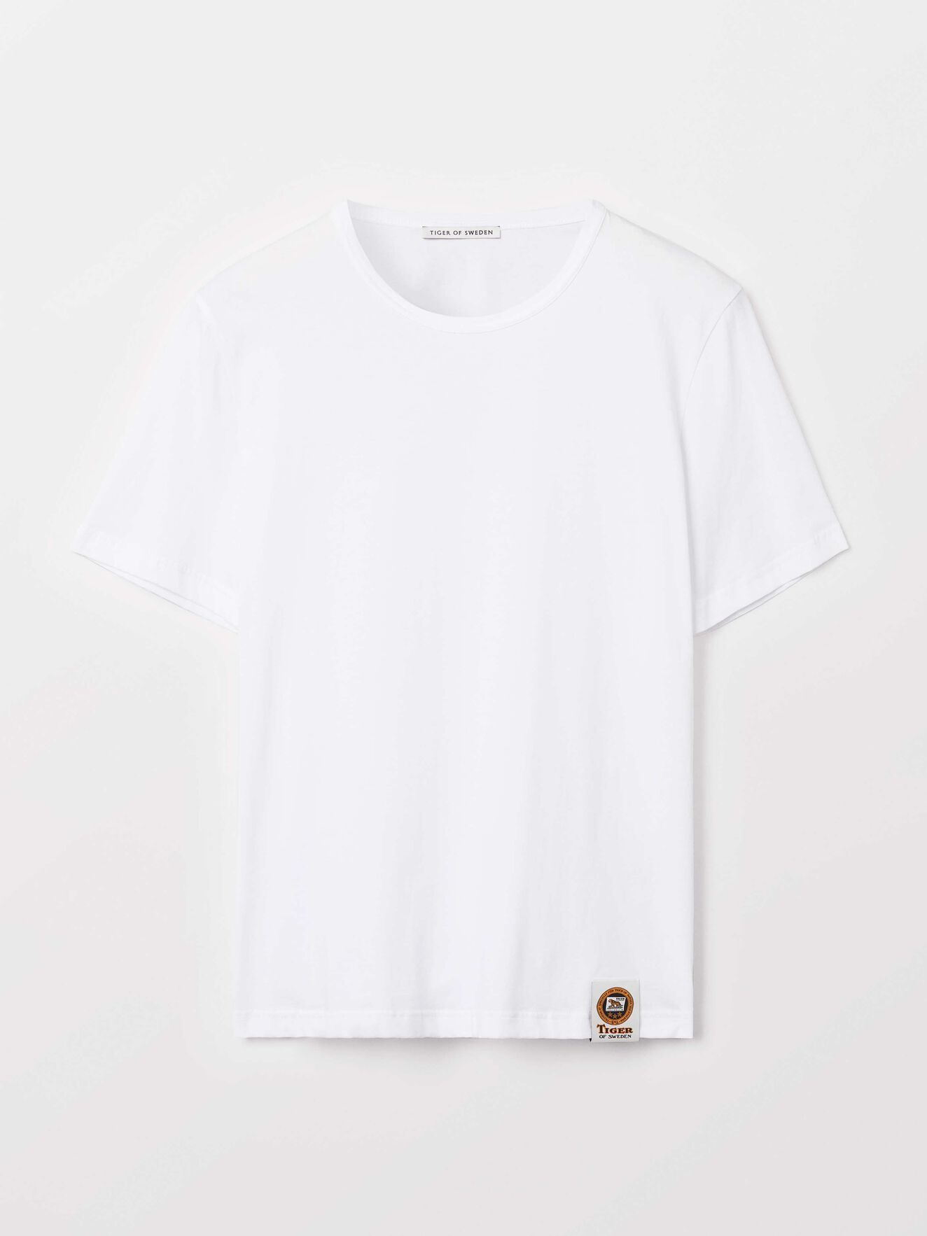 Darian T-Shirt in Pure white from Tiger of Sweden