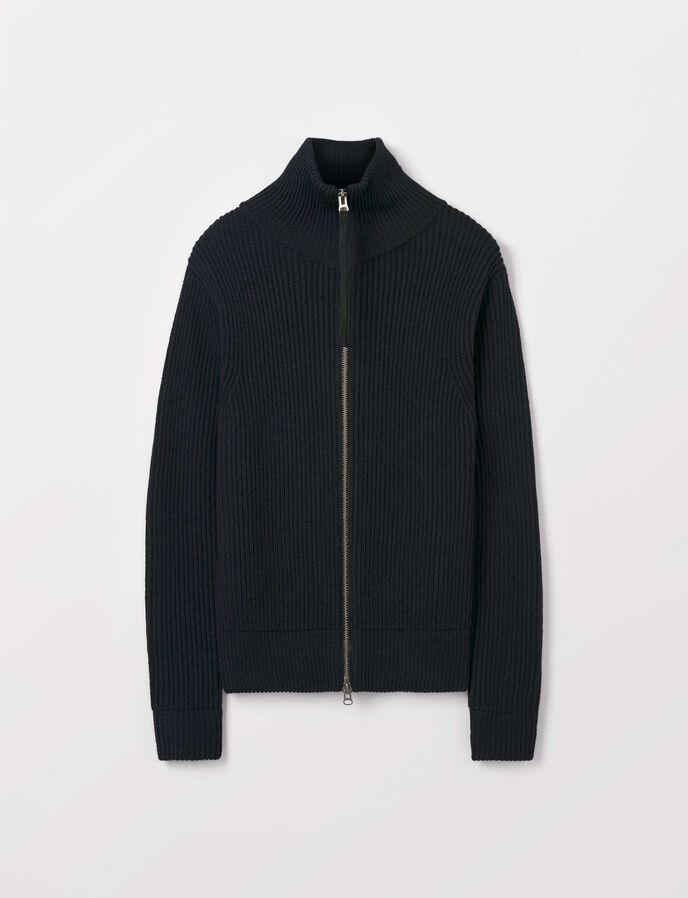 Nyman Cardigan in Light Ink from Tiger of Sweden
