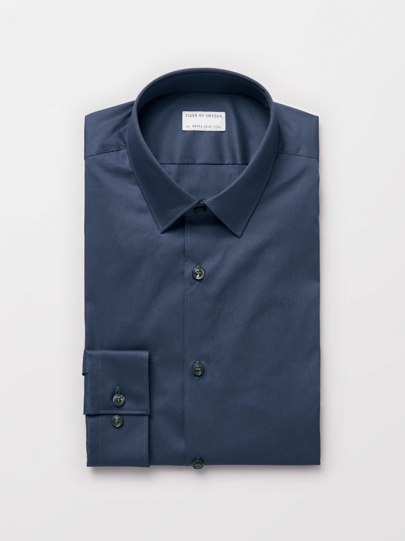 Filbrodie Shirt in Purple Blue from Tiger of Sweden