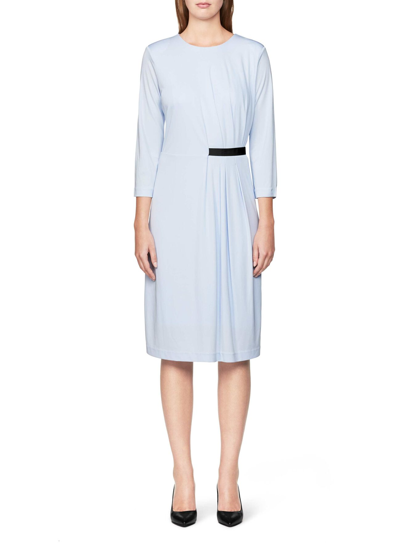 PALOMA KLEID in Art Deco Blue from Tiger of Sweden