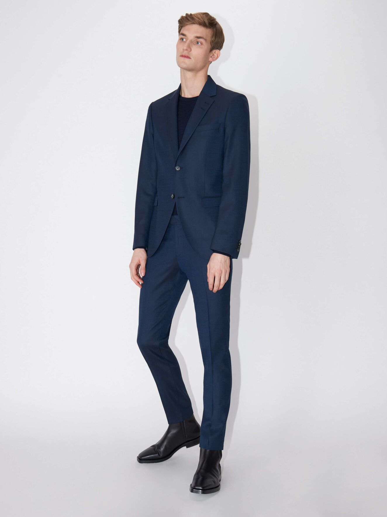 Jamonte blazer in Country Blue from Tiger of Sweden