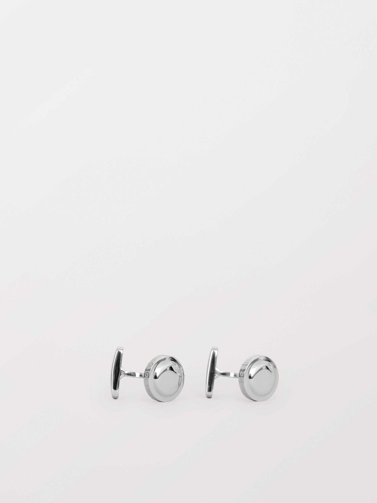 Kollett Cufflinks in Silver from Tiger of Sweden
