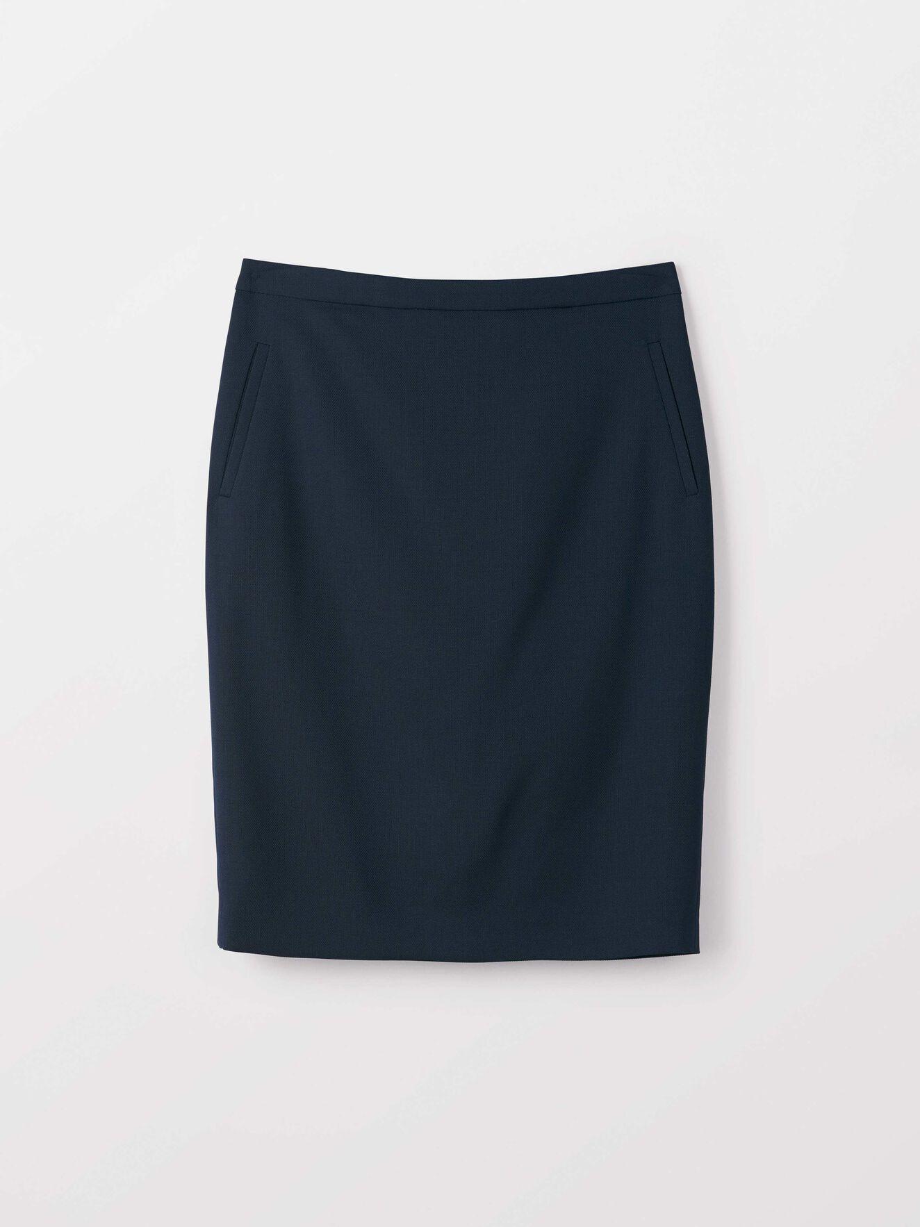 Erene Skirt in Peacoat Blue from Tiger of Sweden
