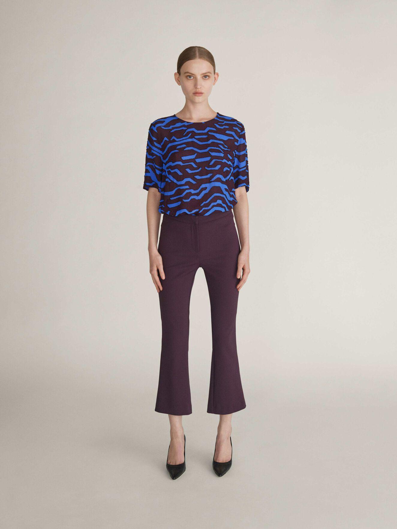 Noora Trousers in Juicy Plum from Tiger of Sweden