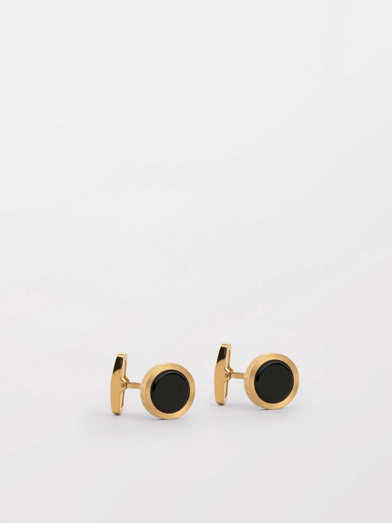 Kollett 2  Cufflinks in Gold from Tiger of Sweden