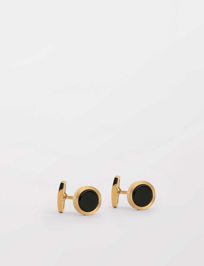 Kollett 2  Cufflinks in Gold from Tiger of Sweden